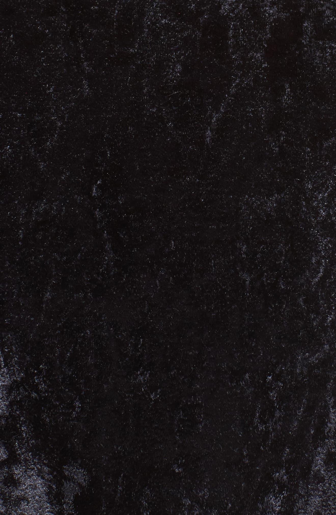 Alternate Image 5  - Leith Velvet Halter Bikini Top