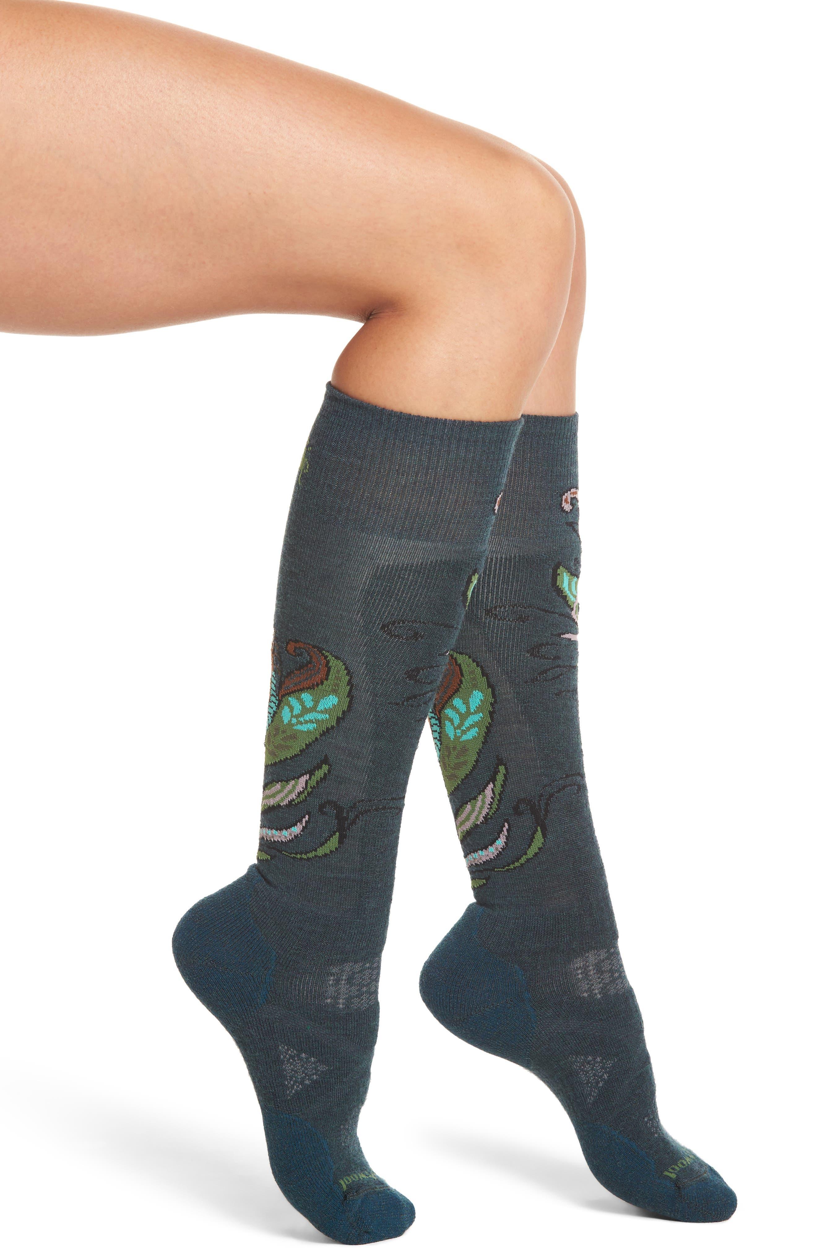 Smartwool PhD® Ski Medium Paisley Socks