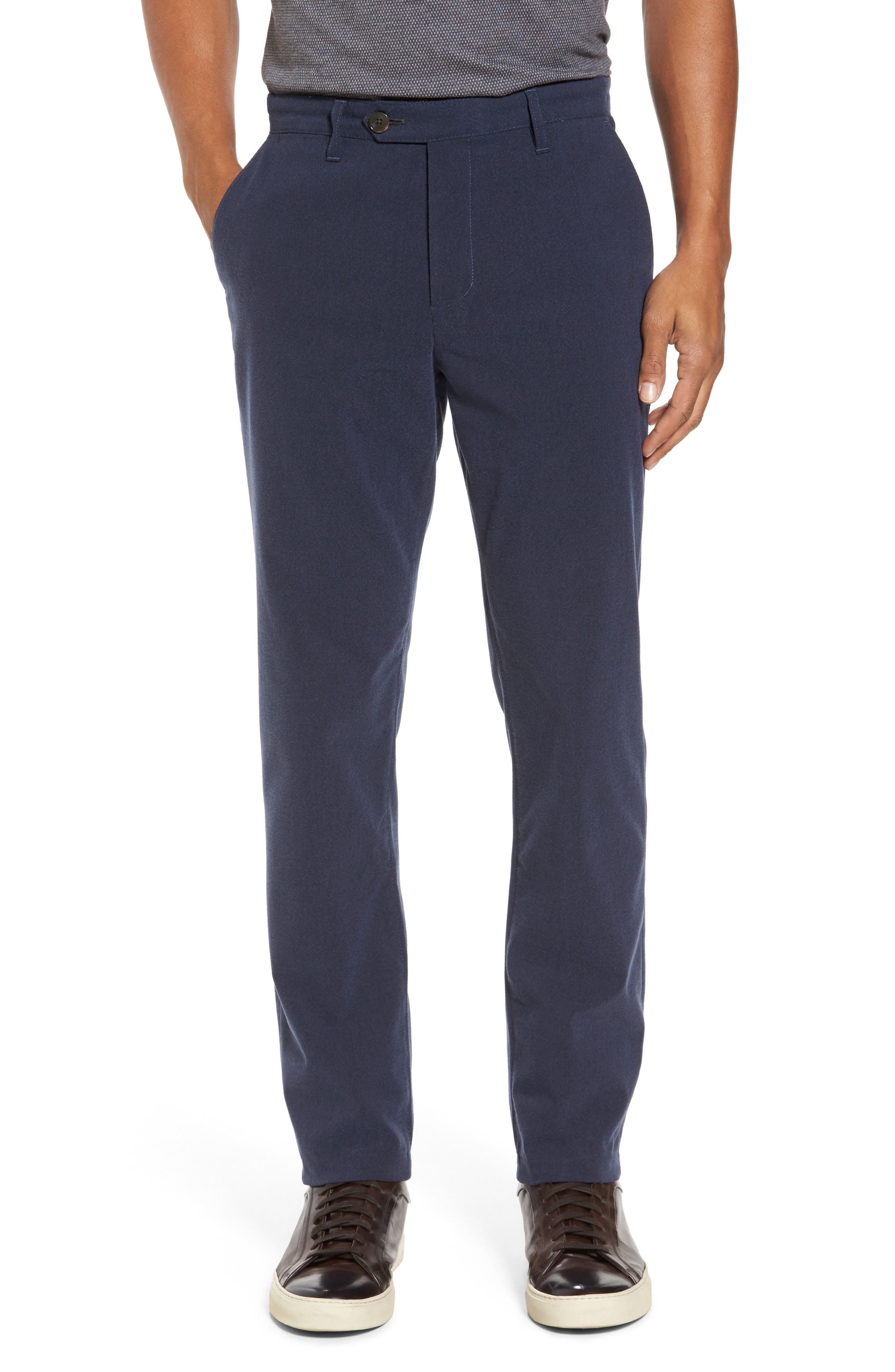 Main Image - Ted Baker London Modern Slim Fit Trousers (Tall)
