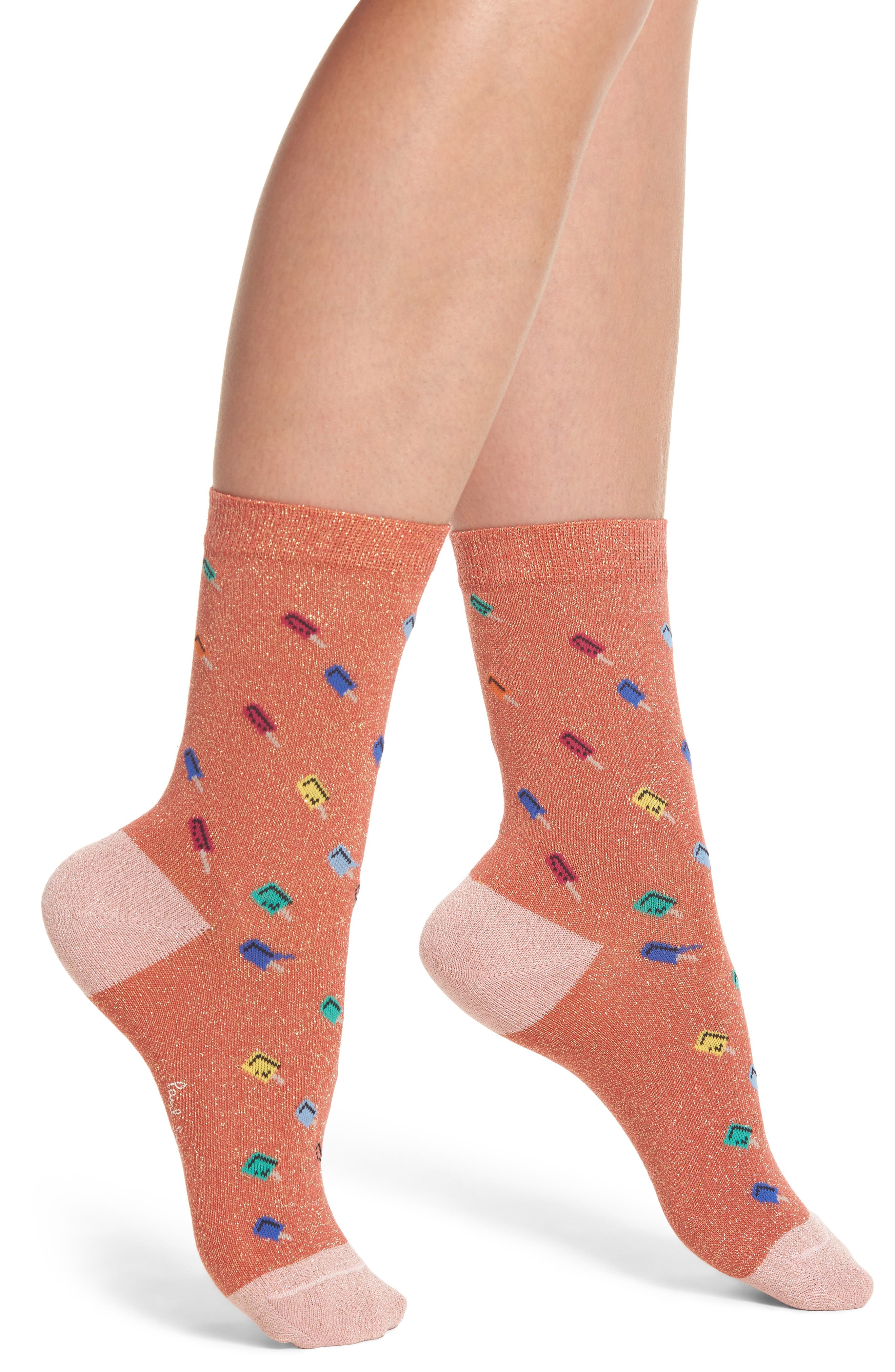 Paul Smith Fantasia Ice Lolly Crew Socks