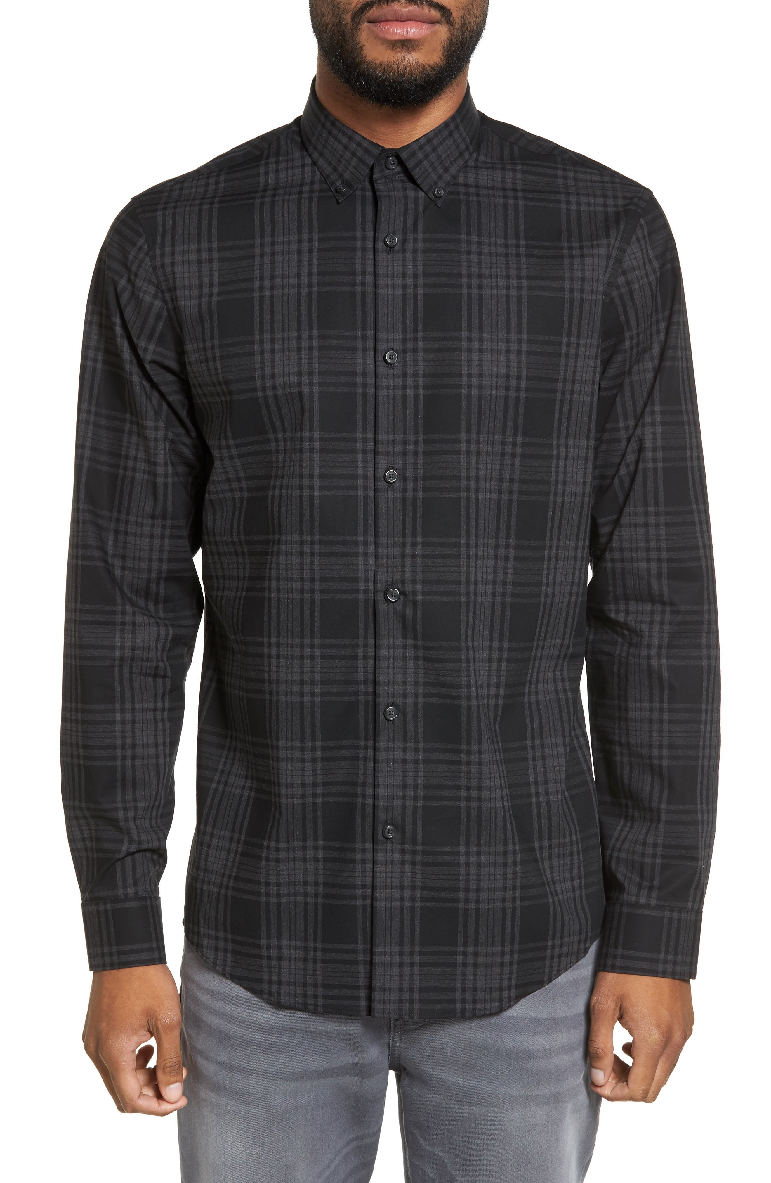 Calibrate Check Sport Shirt