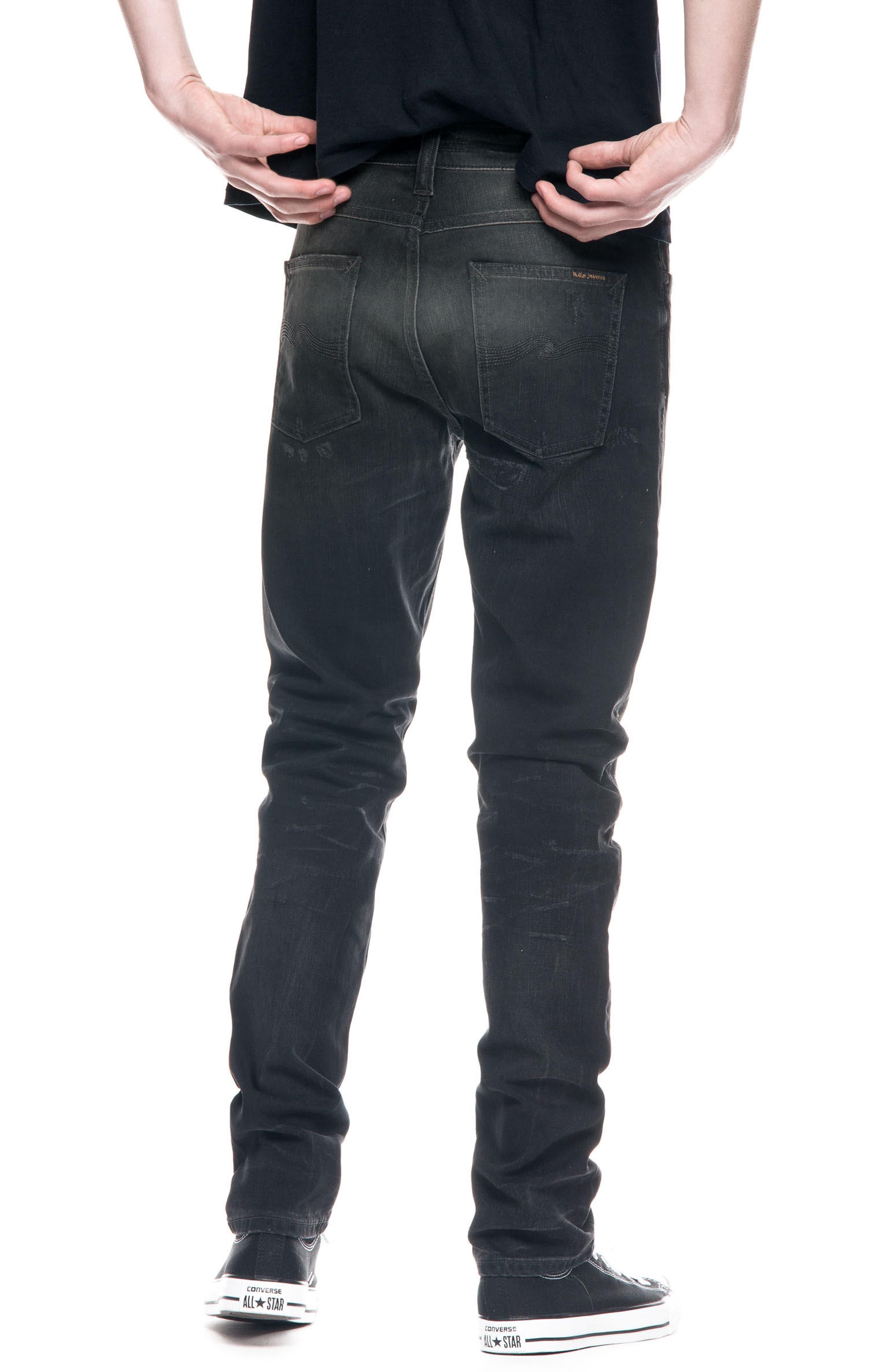 Alternate Image 2  - Nudie Jeans Lean Dean Slouchy Slim Fit Jeans (Johan Replica)