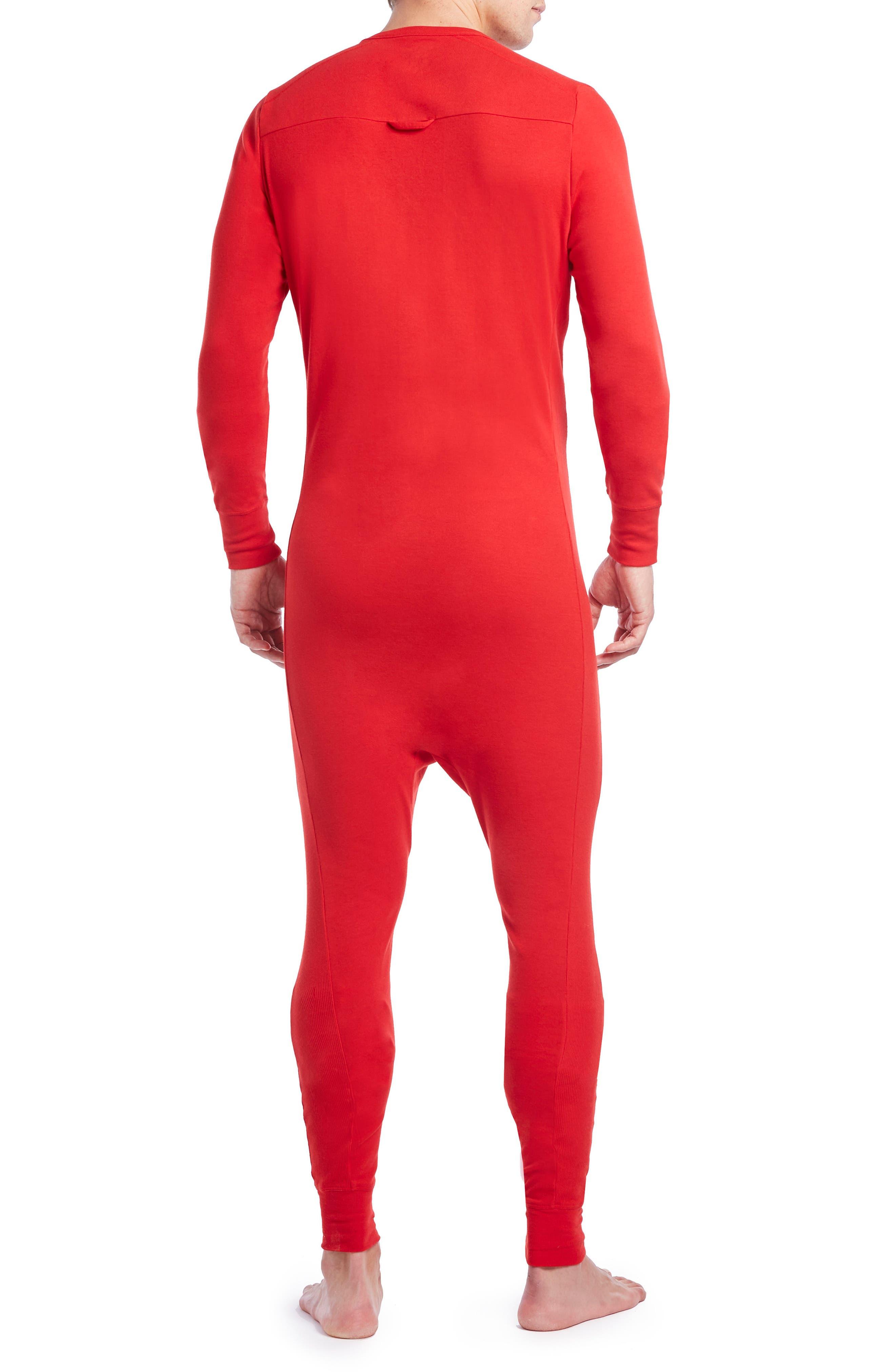 Union Suit,                             Alternate thumbnail 2, color,                             Salsa Red