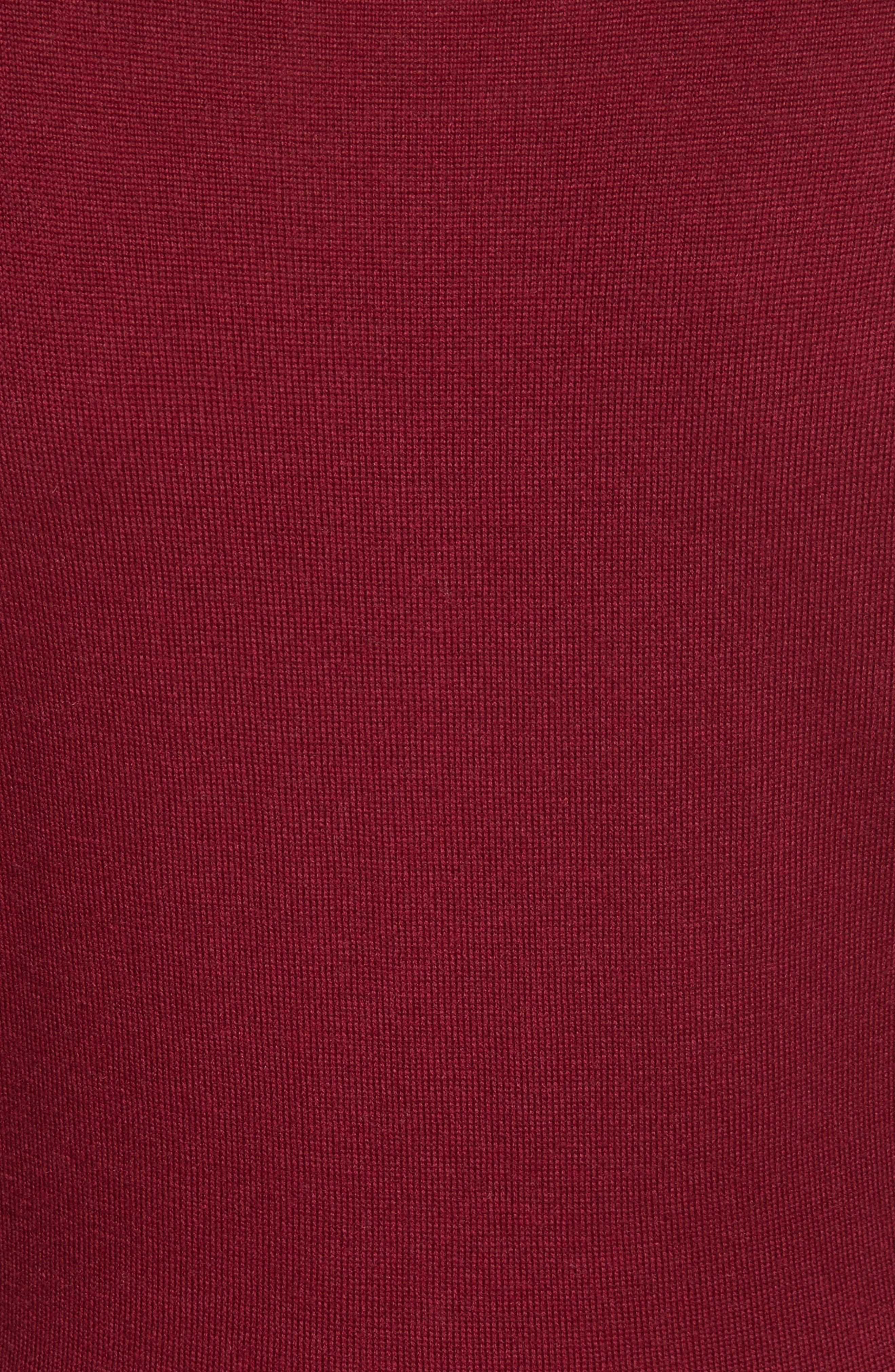 Alternate Image 5  - Valentino Guipure Lace & Wool Knit Dress