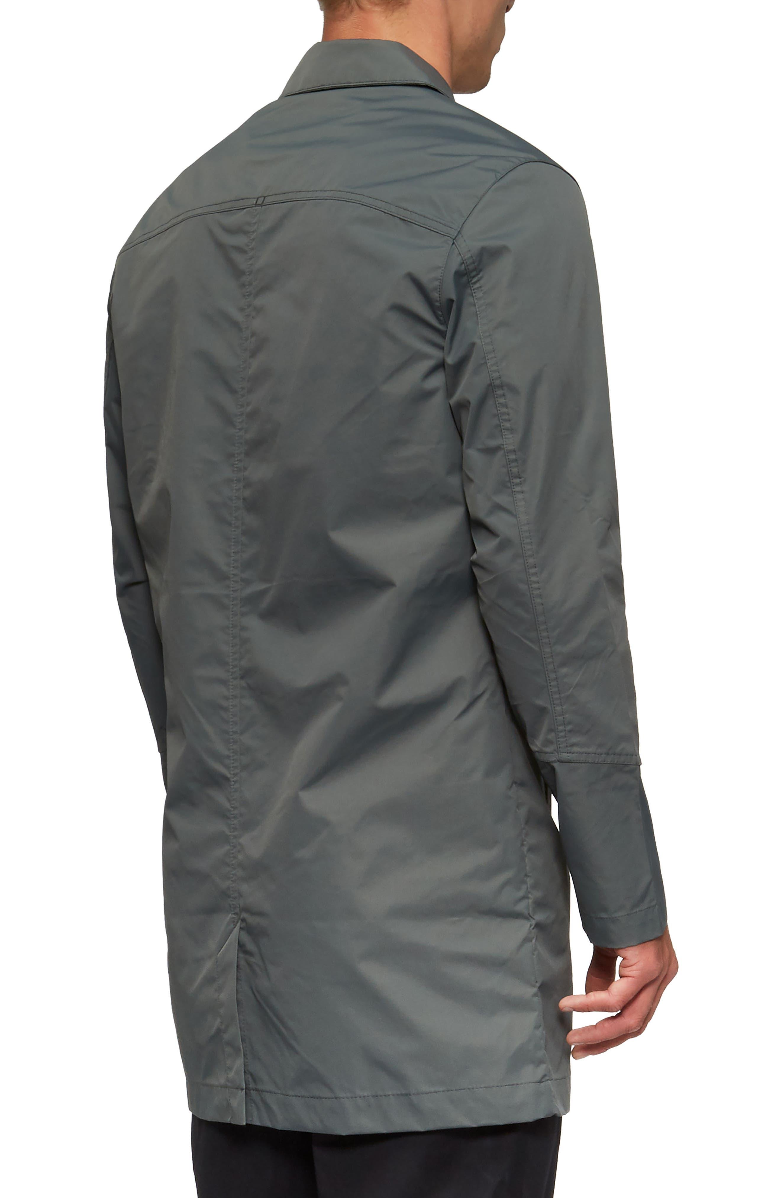 Deckard Weather Resistant Trench Coat,                             Alternate thumbnail 2, color,                             Surplus Green