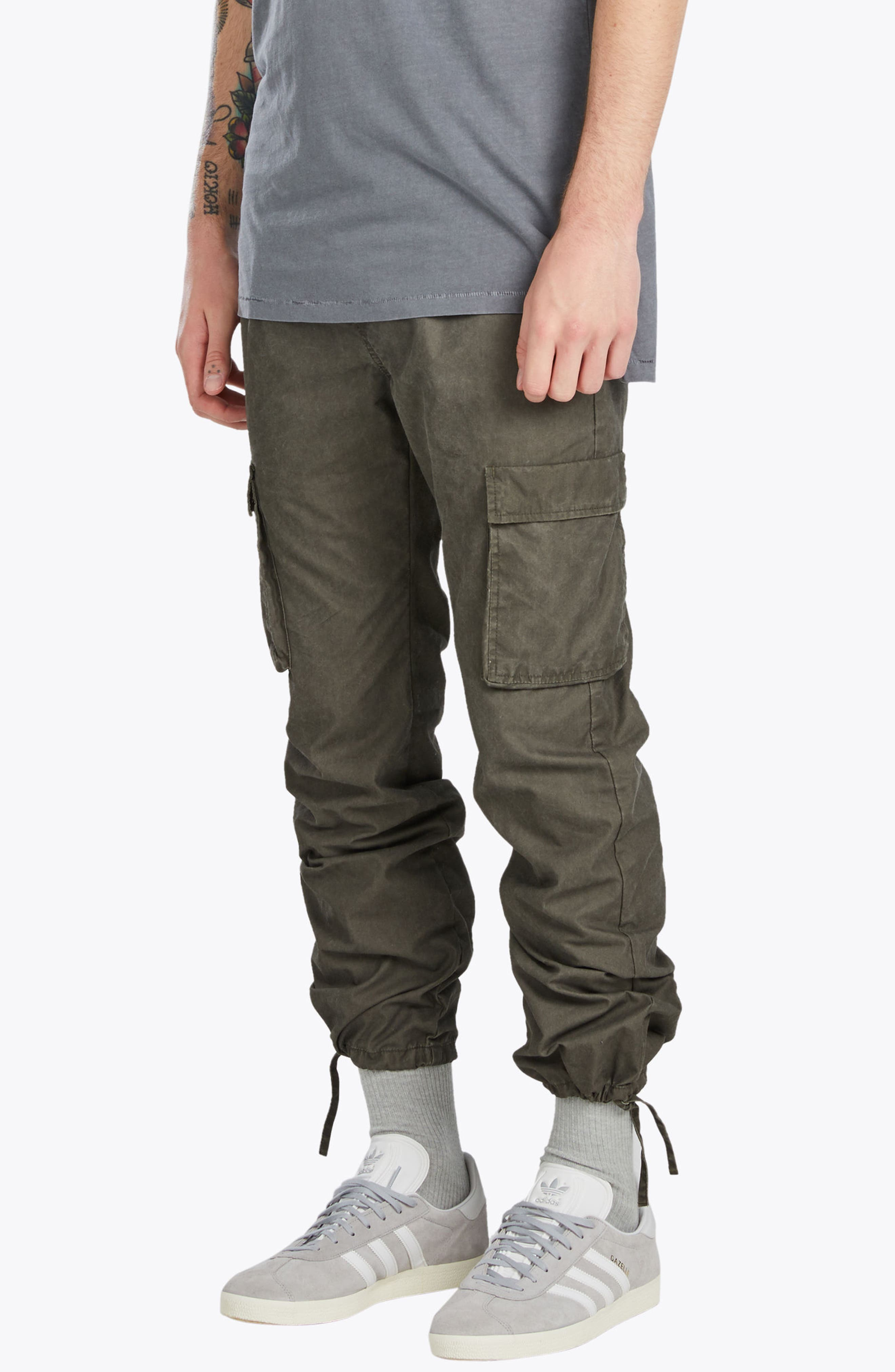 Tracer Cargo Pants,                             Alternate thumbnail 4, color,                             Peat