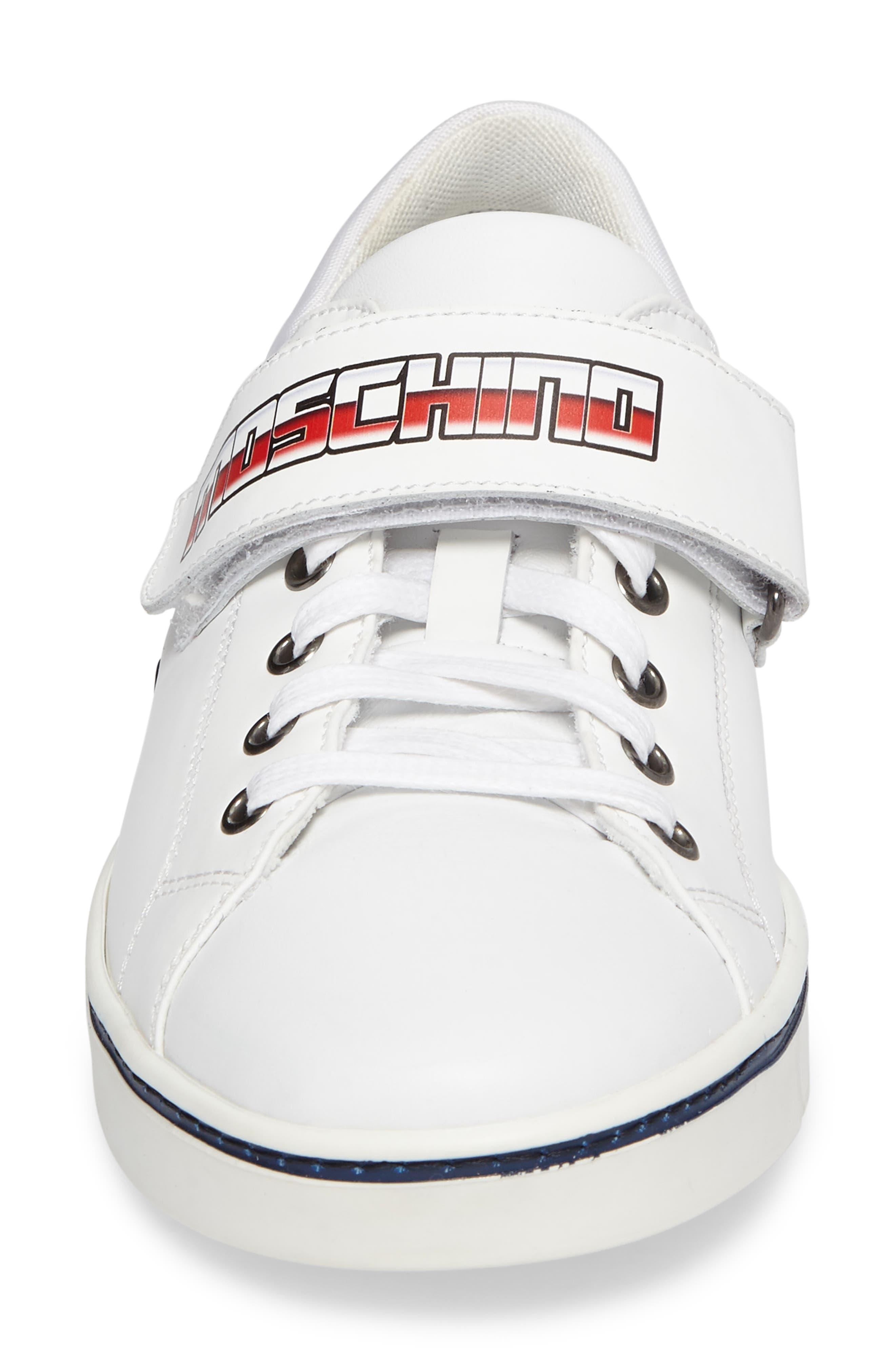 Alternate Image 4  - Moschino Strap Sneaker (Men)