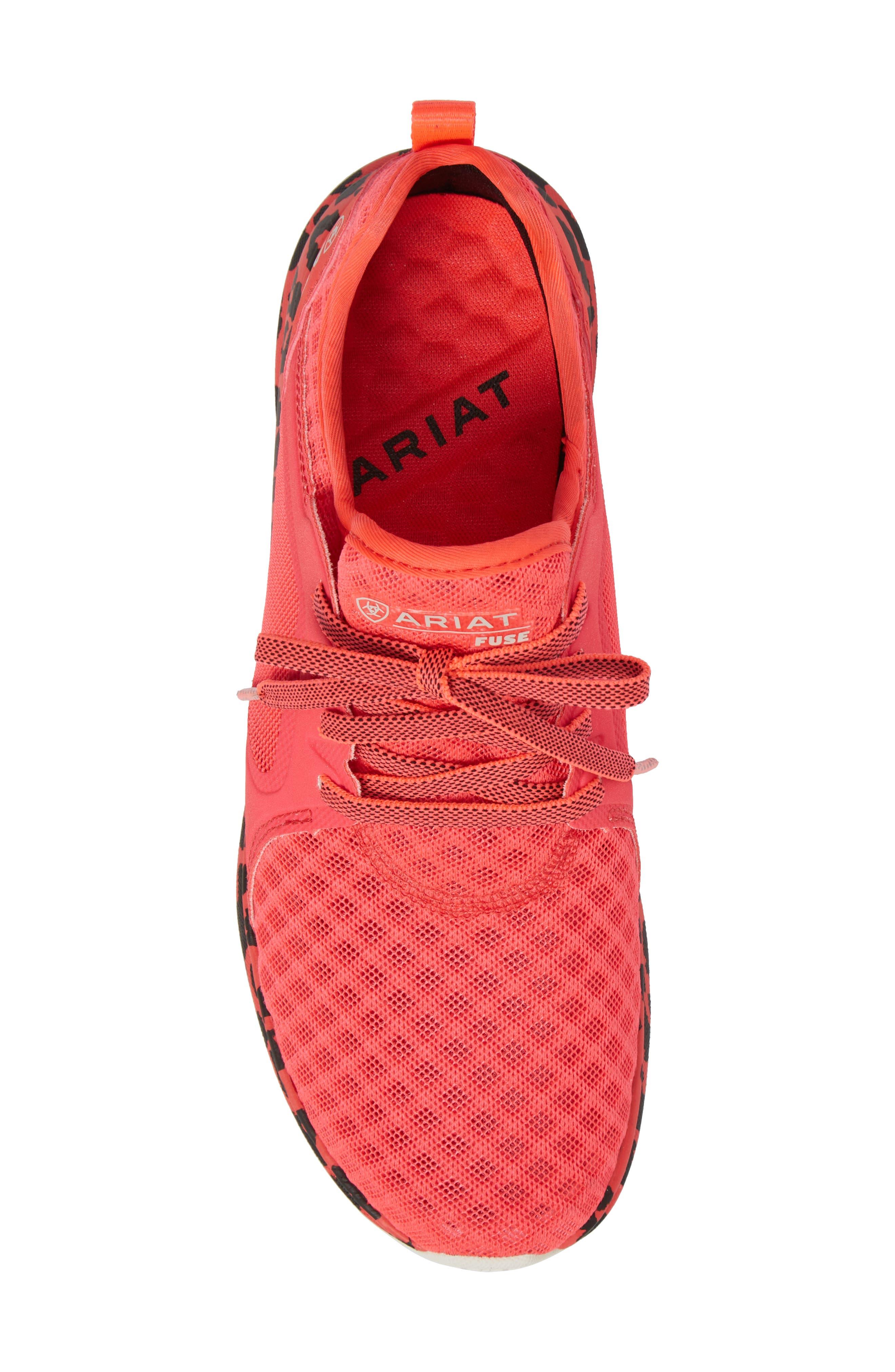 Alternate Image 5  - Ariat Fuse Print Sneaker (Women)