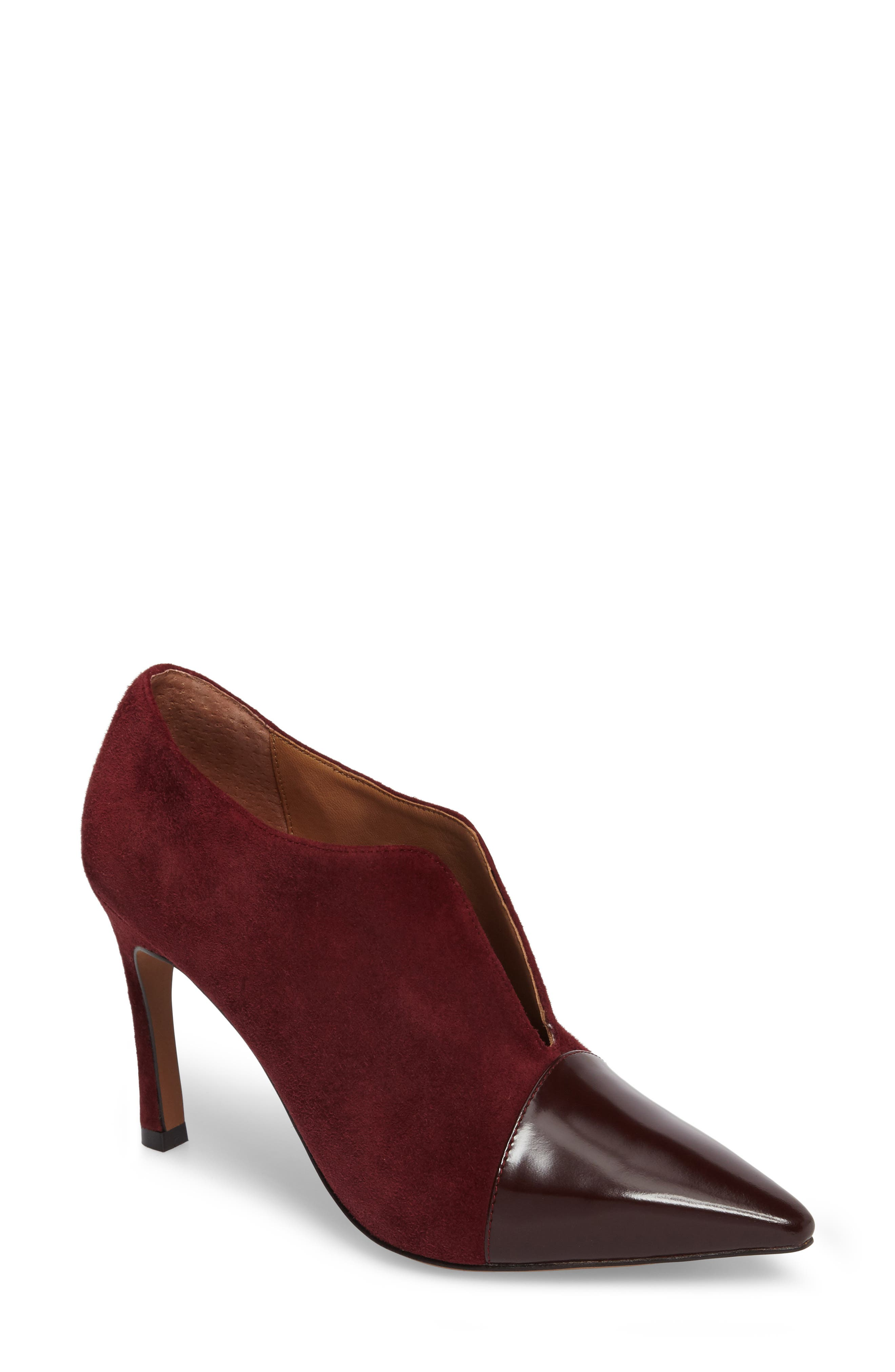 Linea Paolo Pointy Toe Bootie (Women)