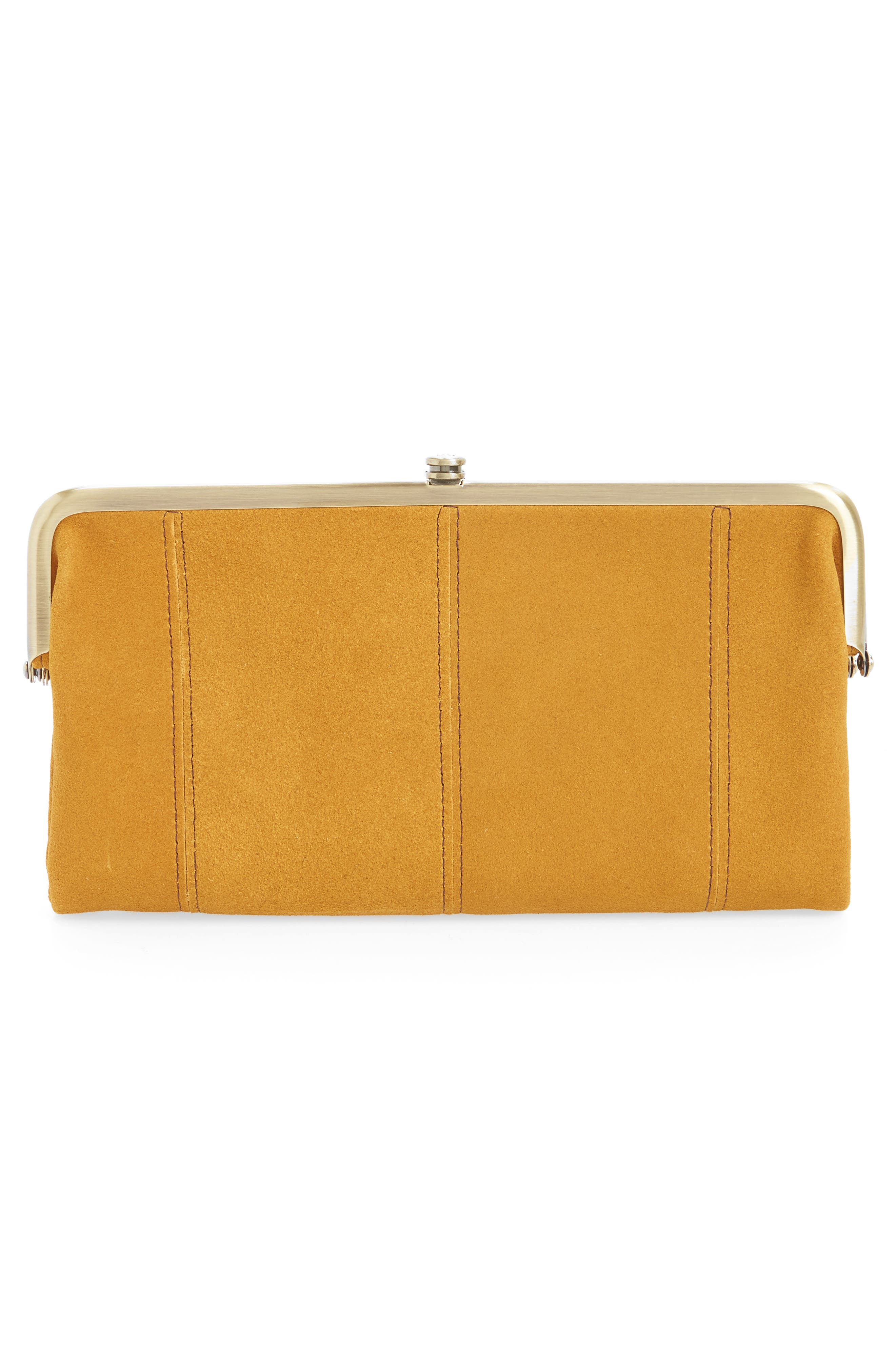 Alternate Image 3  - Hobo Lauren Colorblock Calfskin Leather Wallet