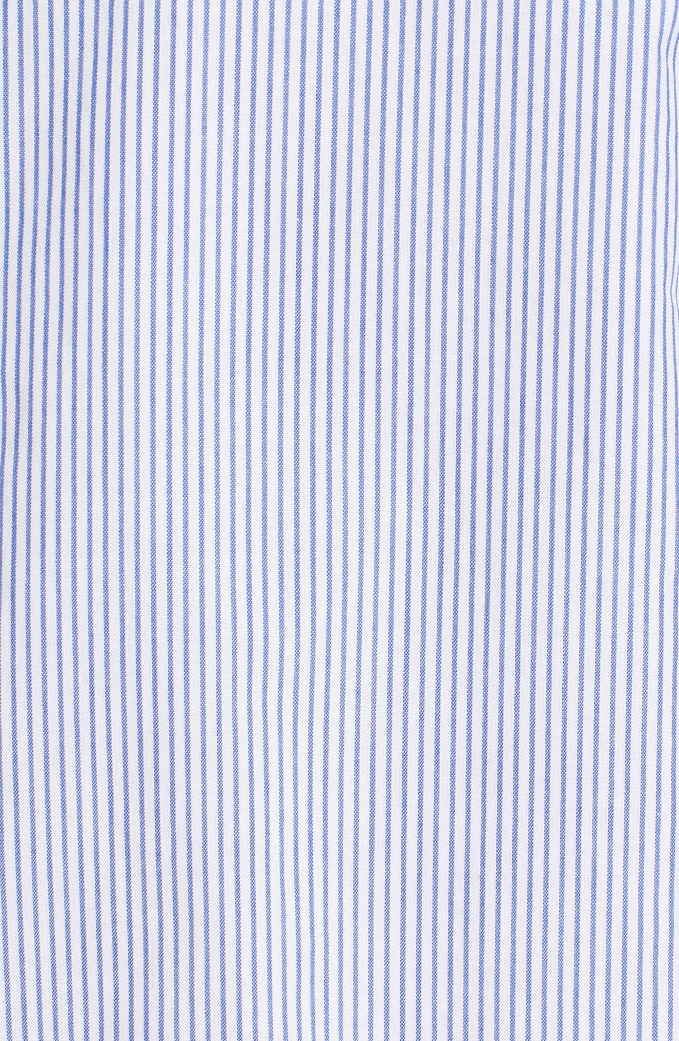 Alternate Image 5  - Scotch & Soda Woven Stripe Shirt