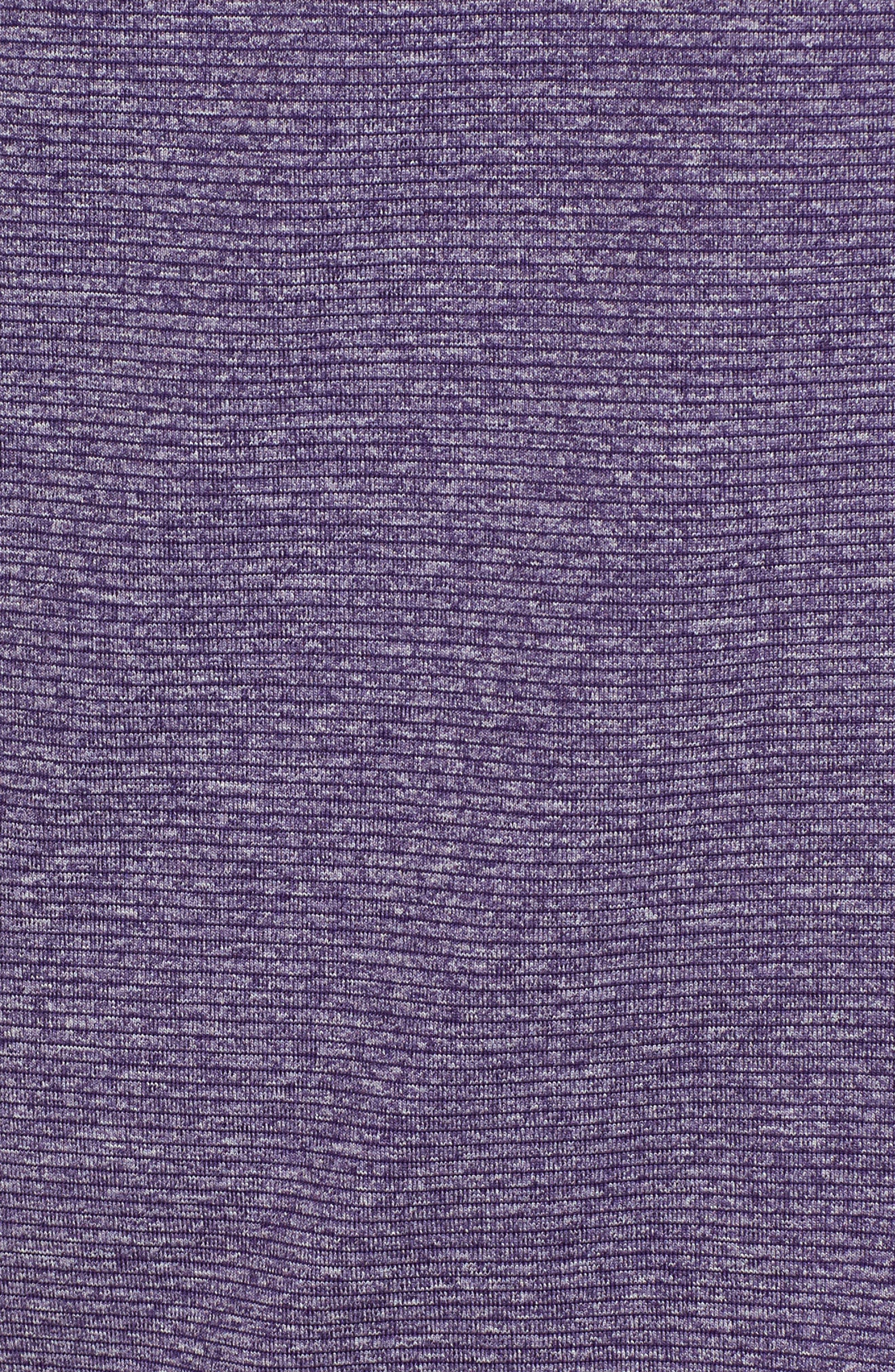 Shoreline - Minnesota Vikings Half Zip Pullover,                             Alternate thumbnail 5, color,                             College Purple Heather