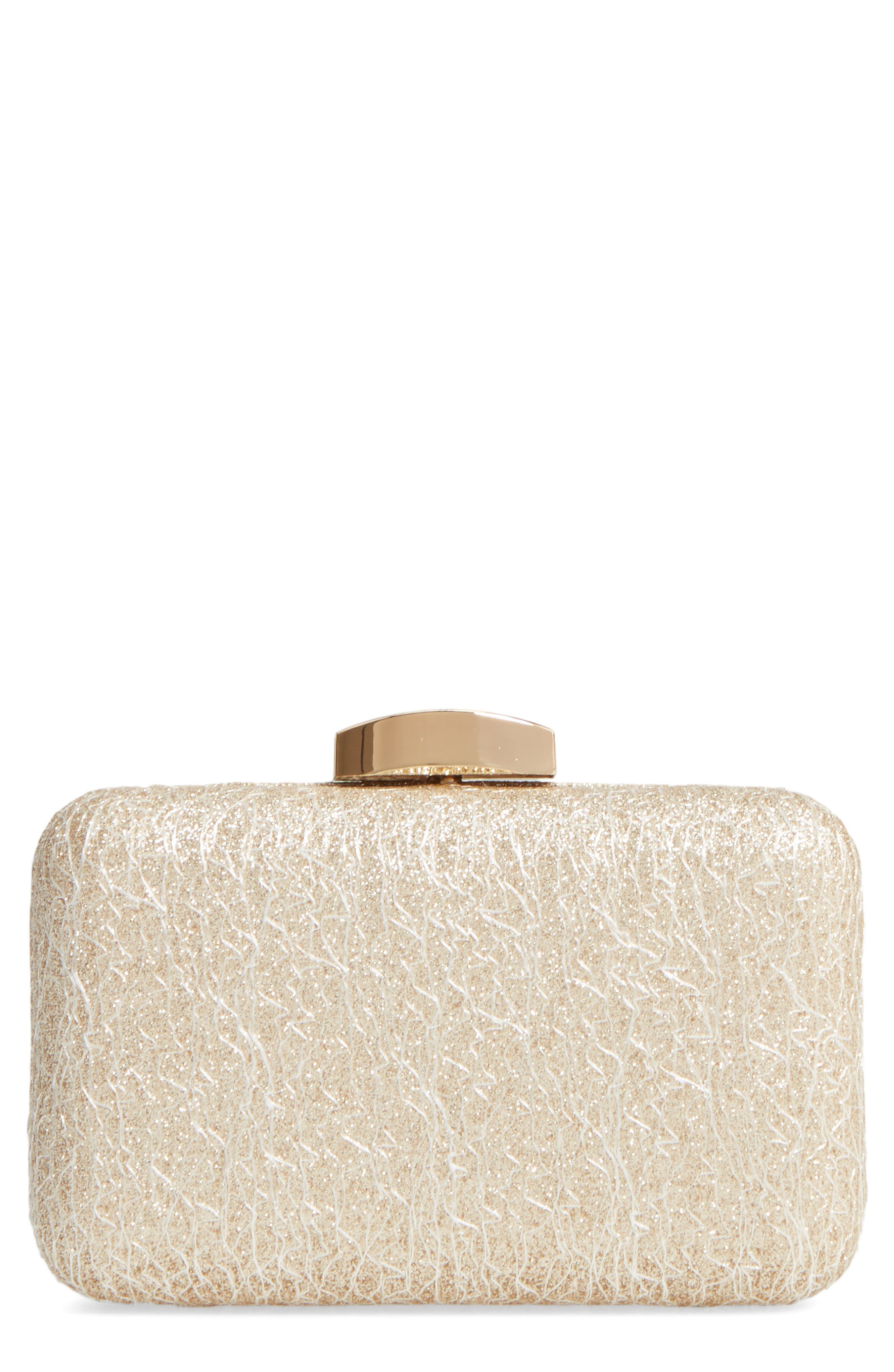 Nordstrom Abstract Lace Minaudière