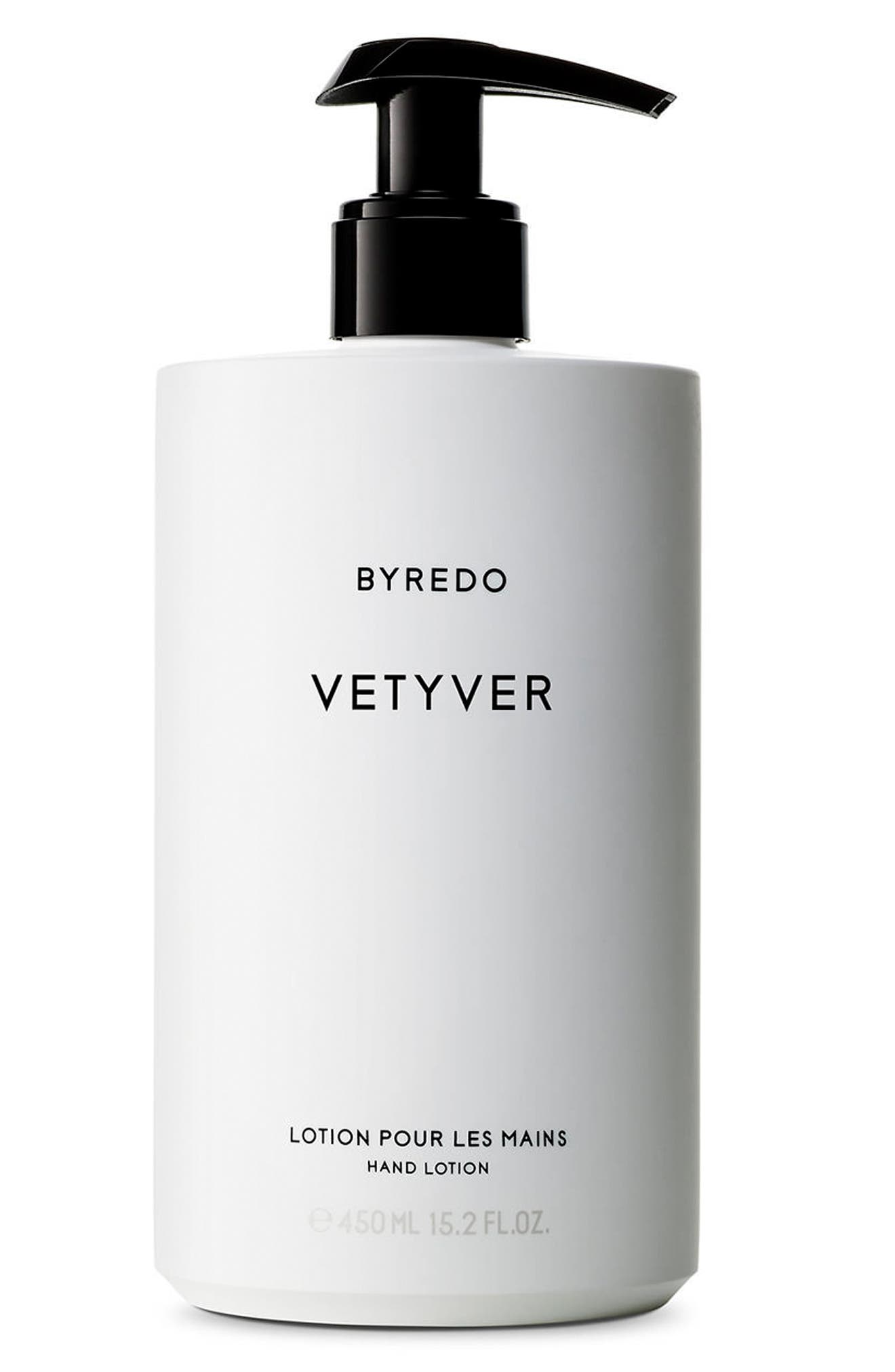 Vetyver Hand Lotion,                             Main thumbnail 1, color,                             No Color