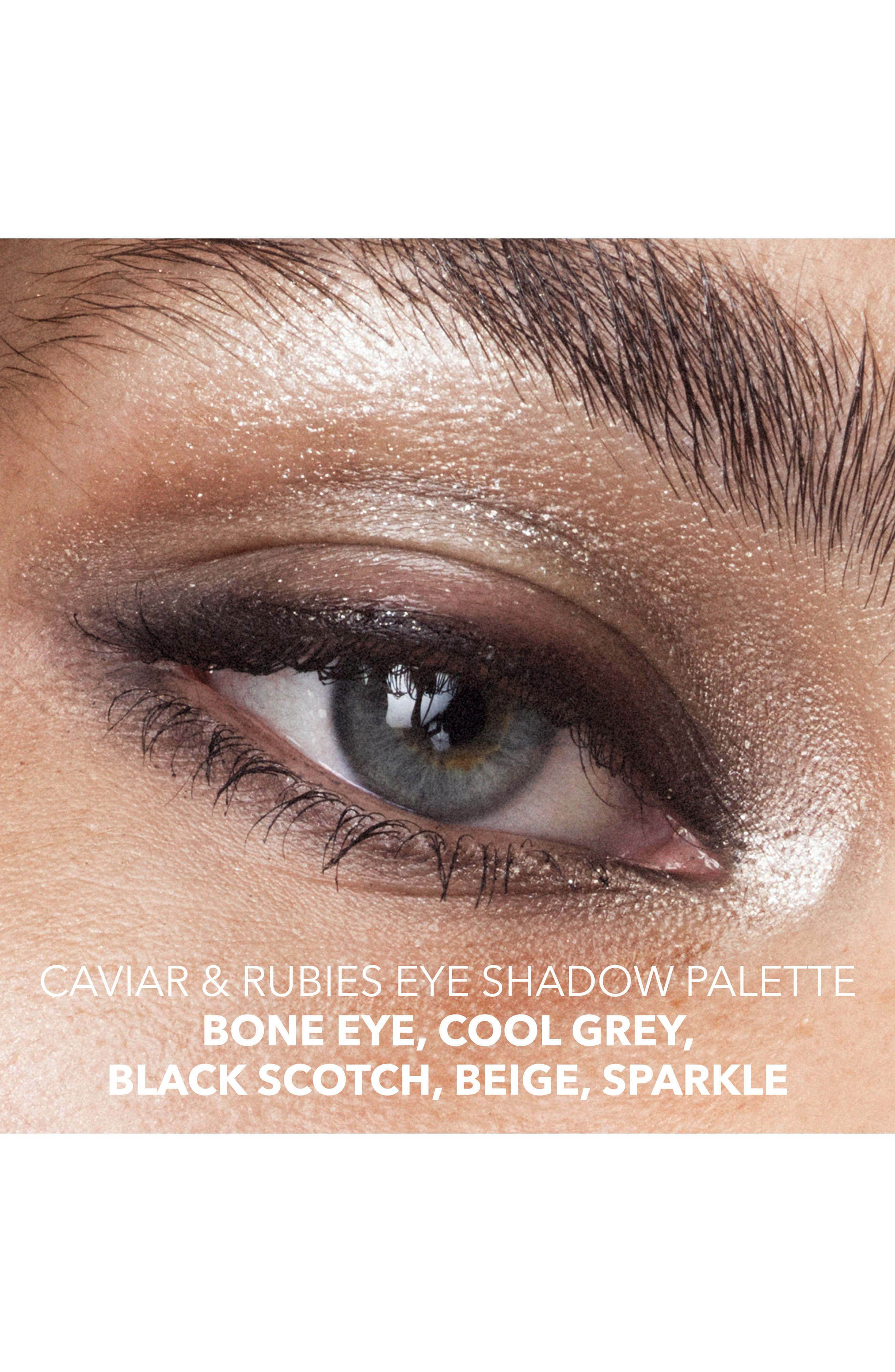 Caviar & Rubies Eyeshadow Palette,                             Alternate thumbnail 3, color,                             No Color