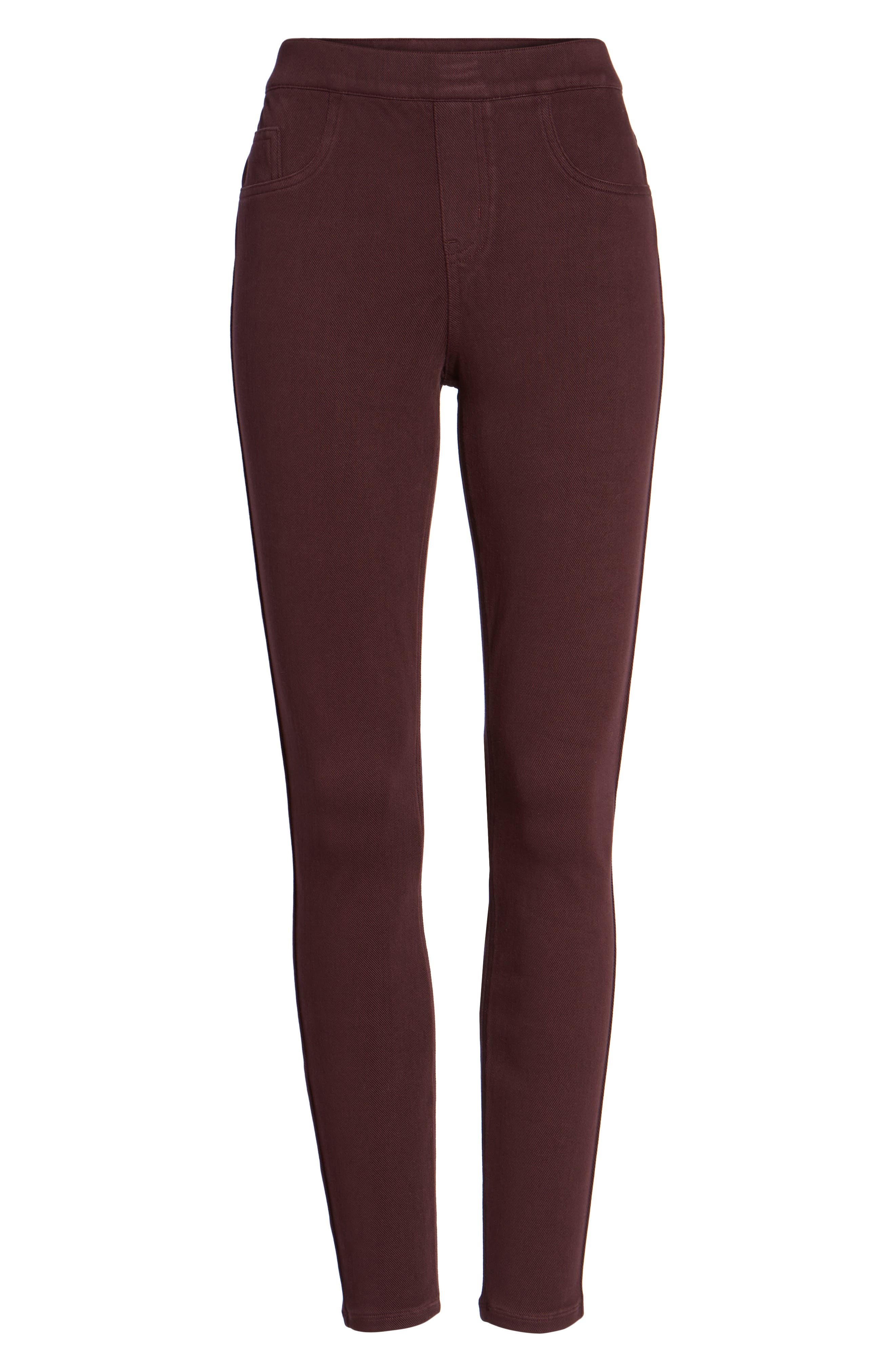 Alternate Image 4  - SPANX® Jean-ish Leggings