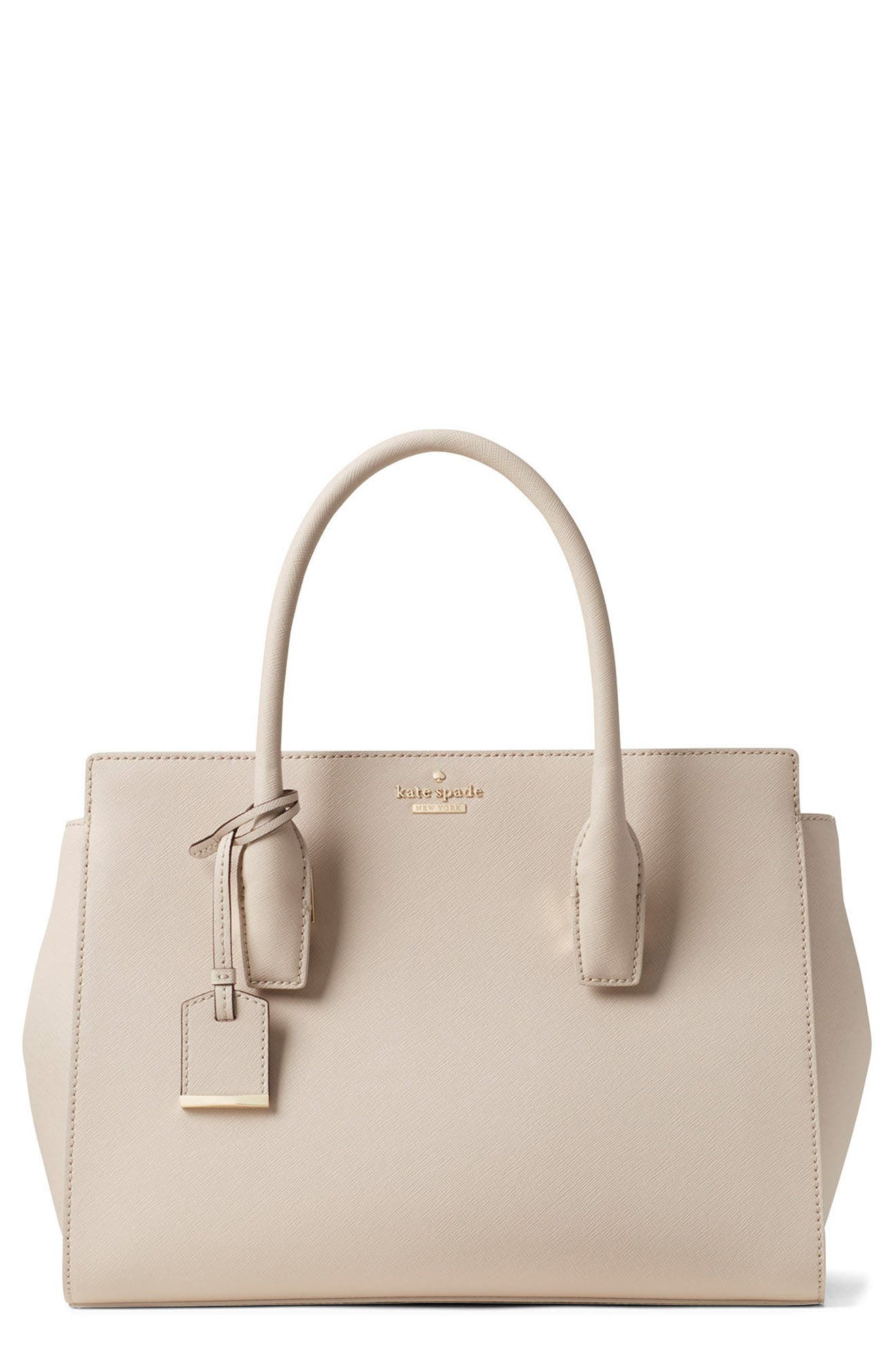 kate spade new york make it mine - candace leather satchel