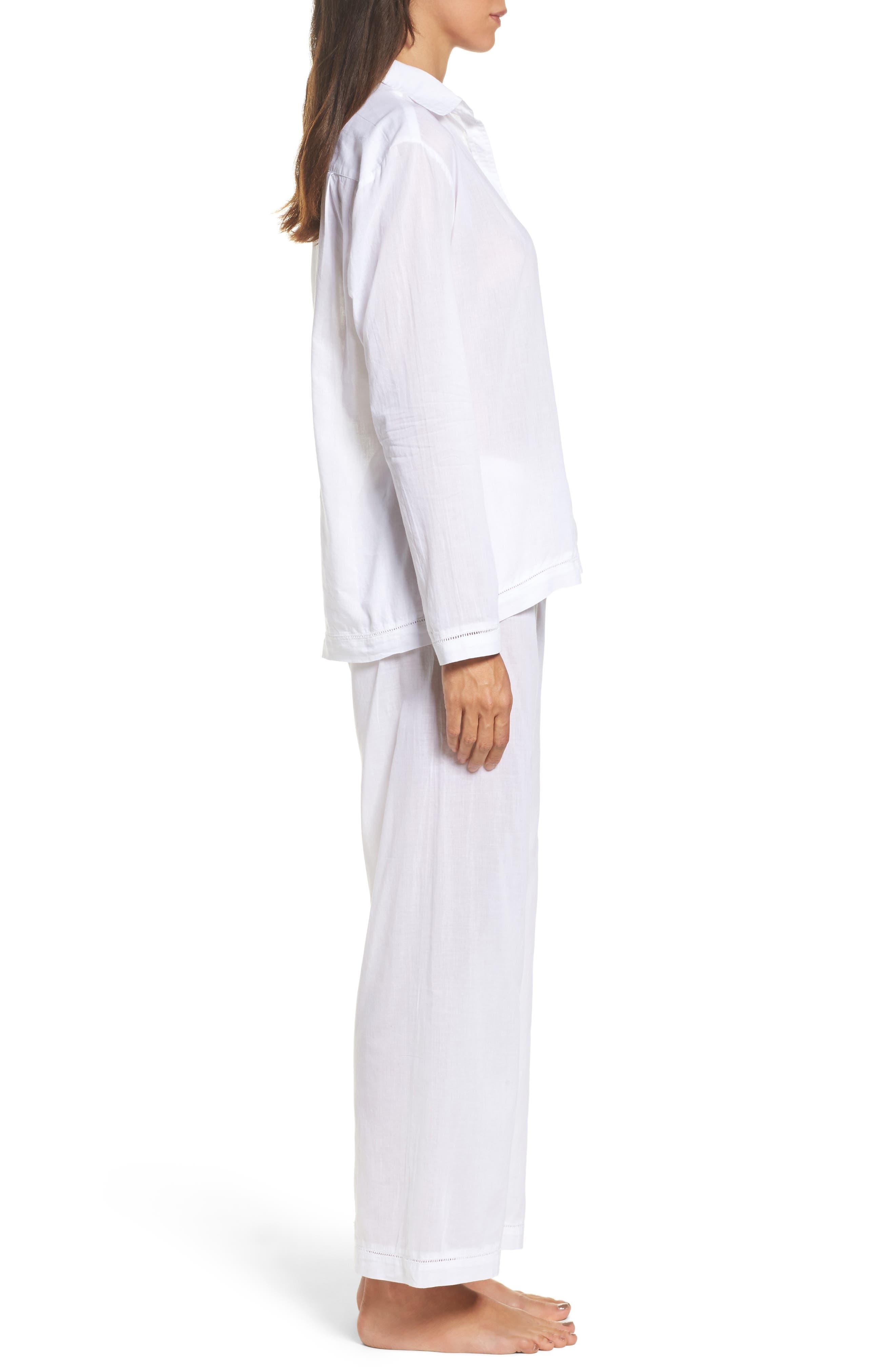 Alternate Image 3  - Pour Les Femmes Classic Pajamas
