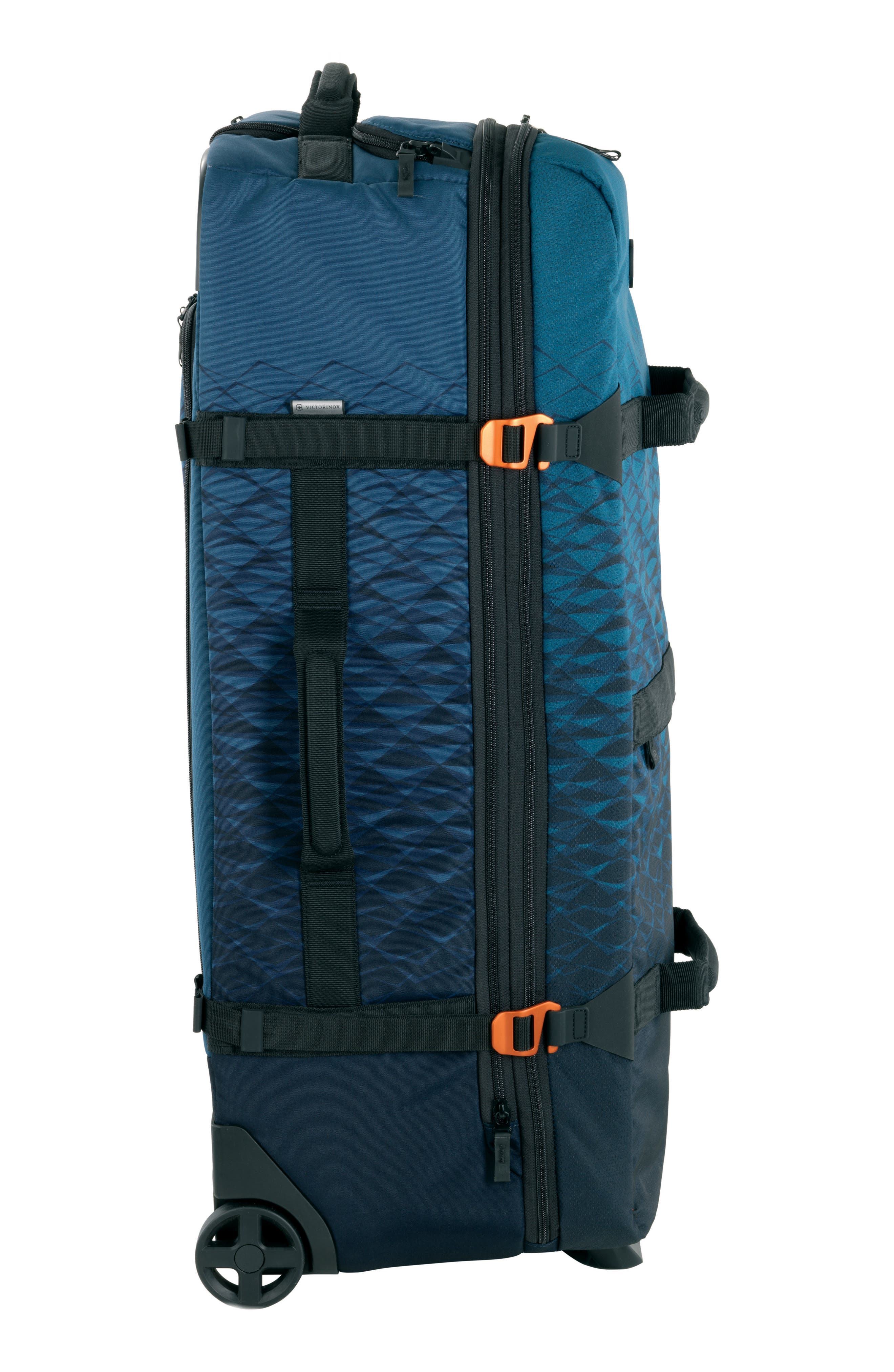 VX Touring Extra Large Wheeled Duffel Bag,                             Alternate thumbnail 3, color,                             Dark Teal