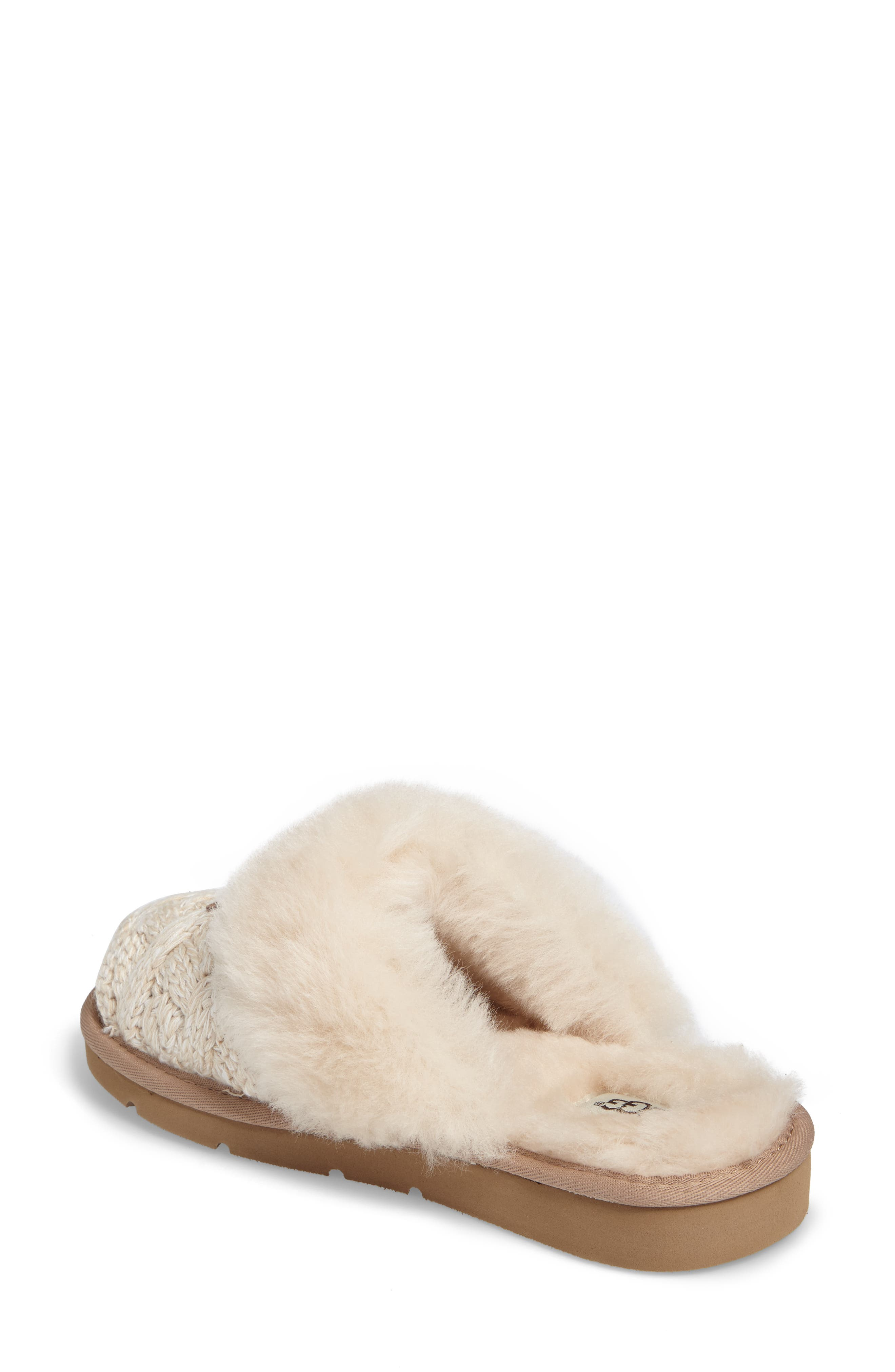 Alternate Image 2  - UGG® Cozy Cable Slipper (Women)