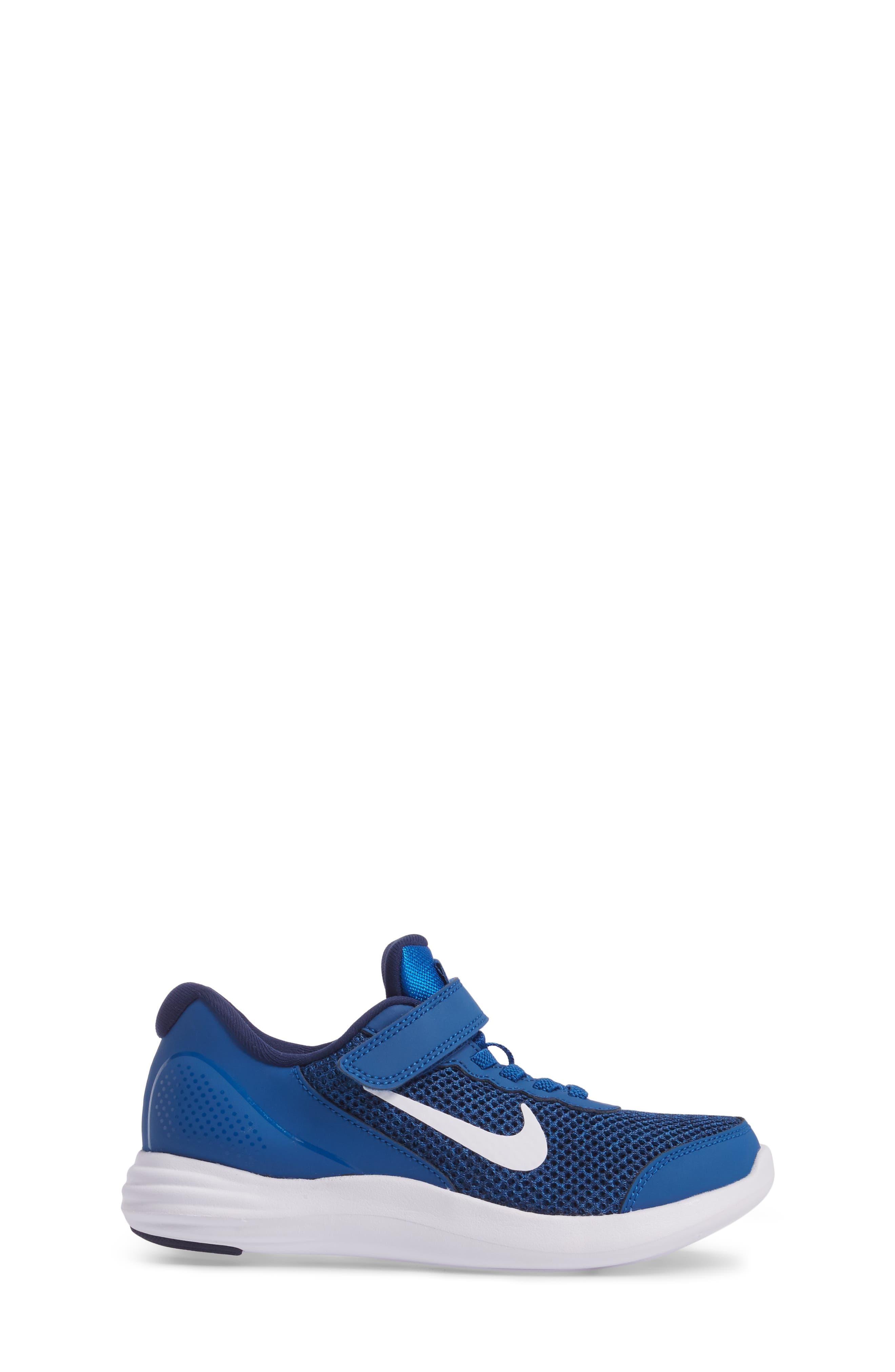 Lunar Apparent Sneaker,                             Alternate thumbnail 3, color,                             Blue Jay/ White/ Binary Blue
