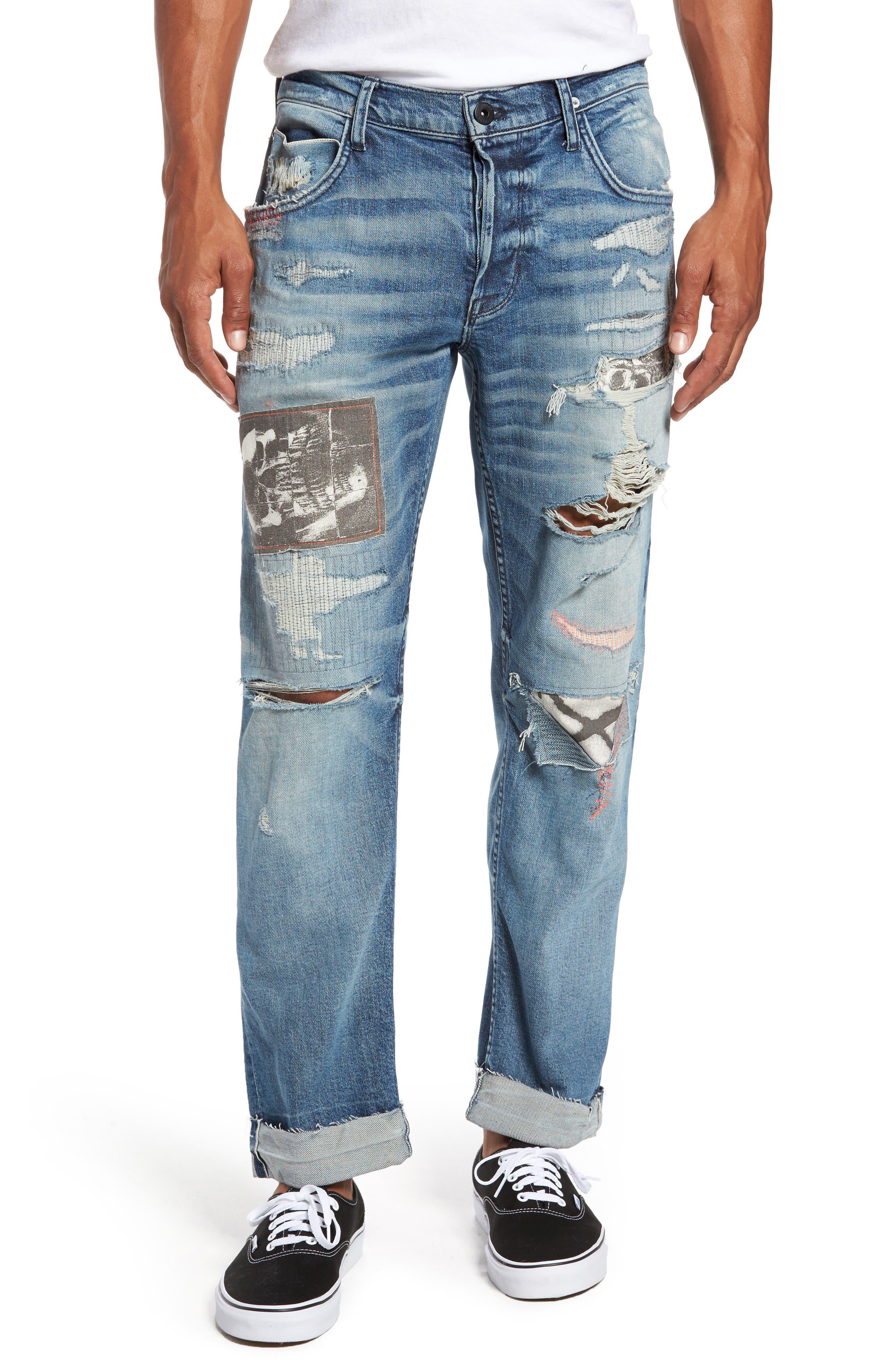 Blake Slim Fit Jeans,                             Main thumbnail 1, color,                             Public Enemy