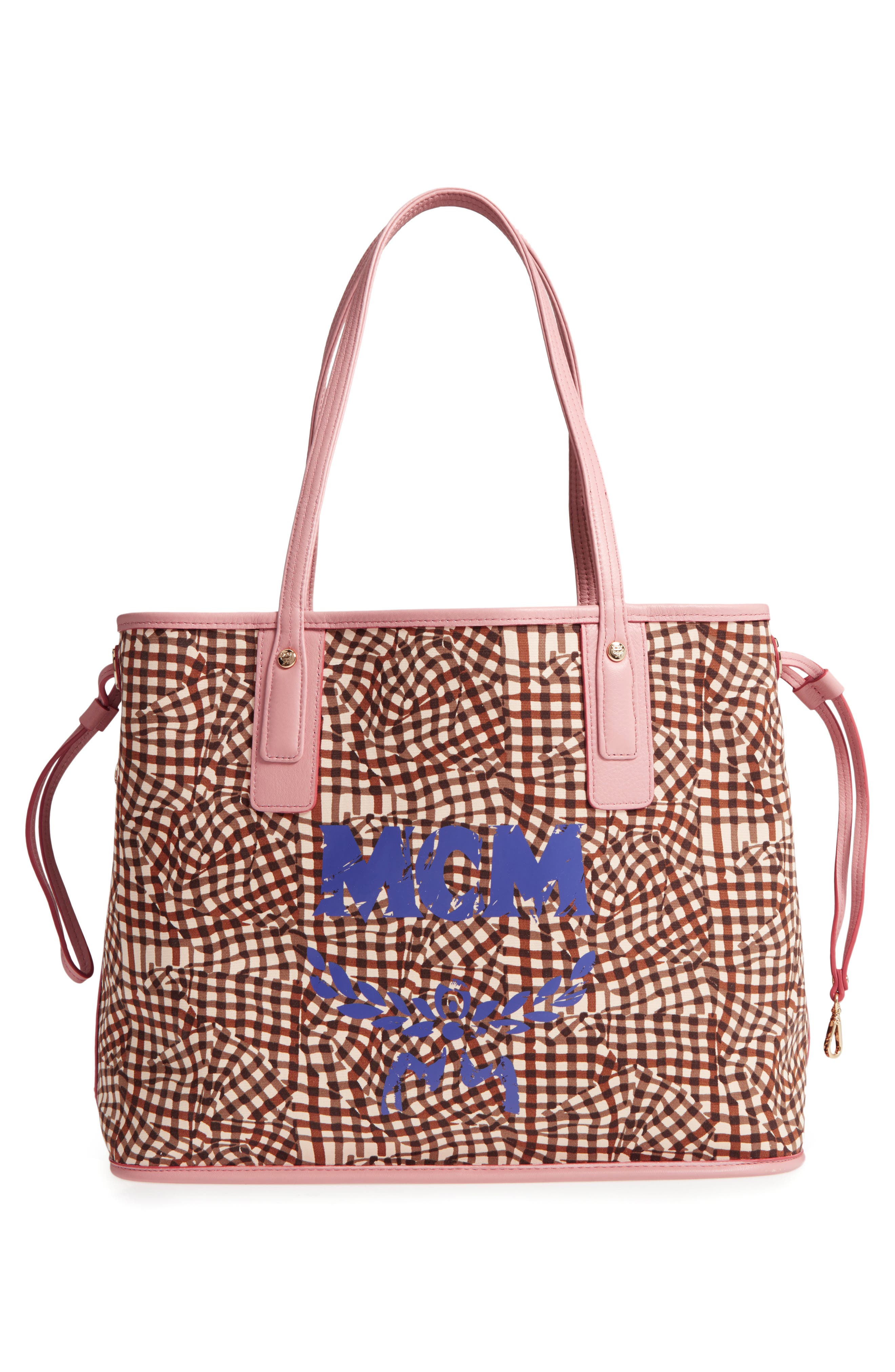 Alternate Image 4  - MCM Medium Liz Reversible Visetos Coated Canvas Shopper