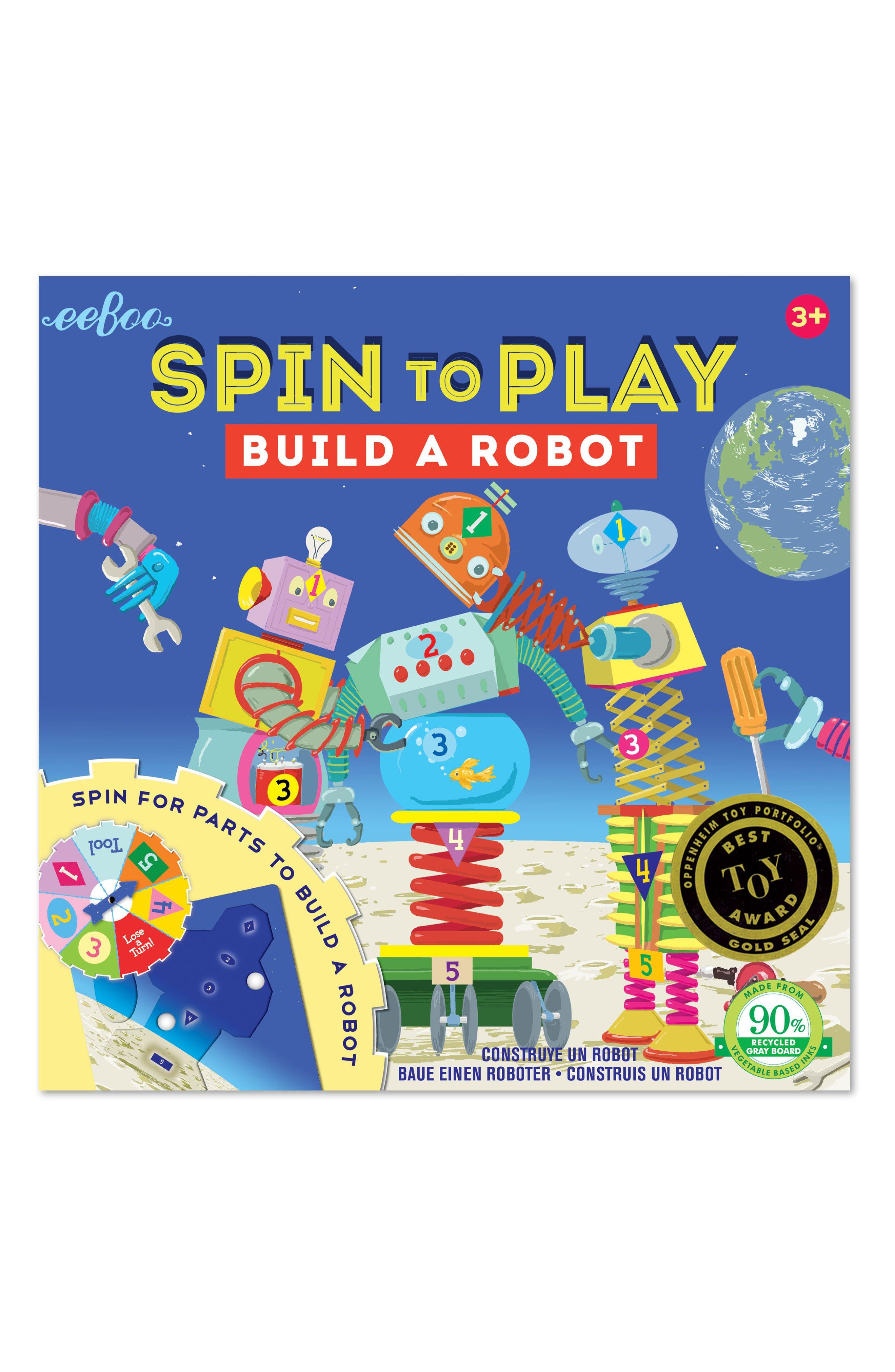 eeBoo Robot Spinner Game