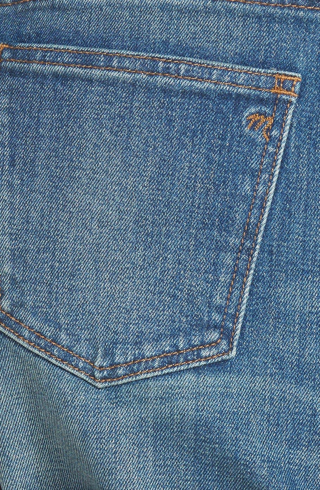Alternate Image 3  - Madewell High Rise Denim Shorts (Denver)