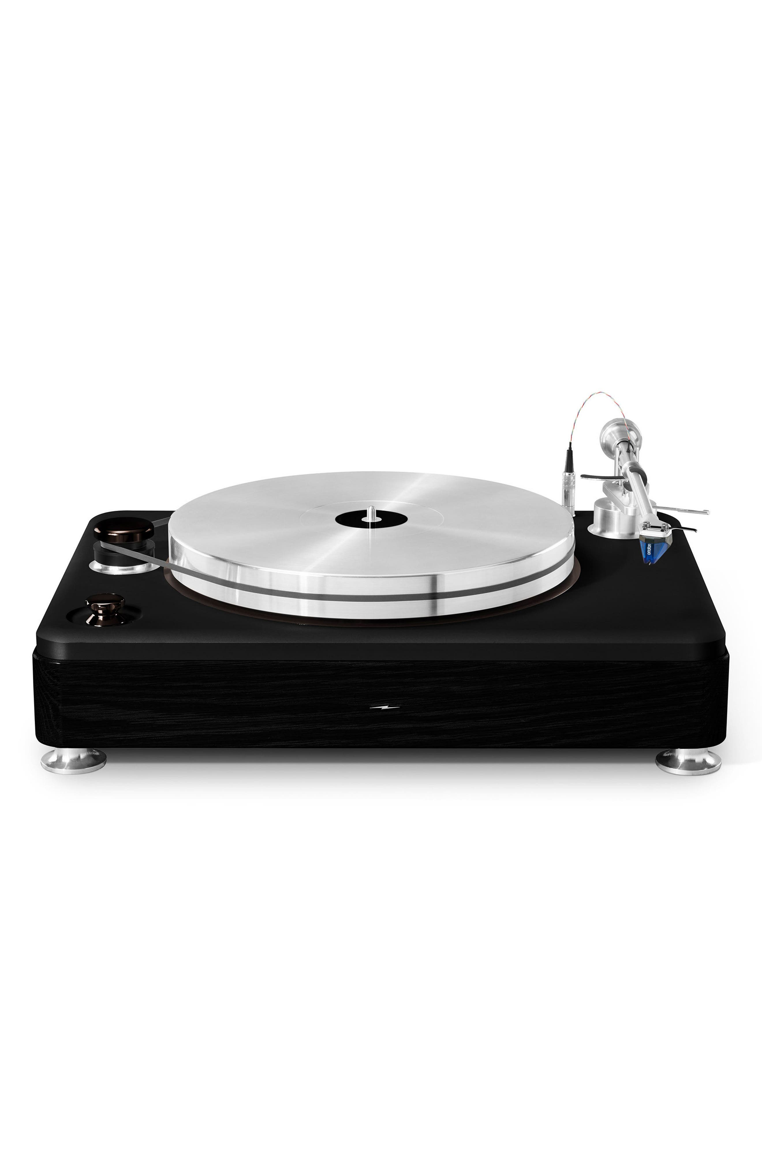 The Runwell Turntable,                         Main,                         color, Black/ Silver