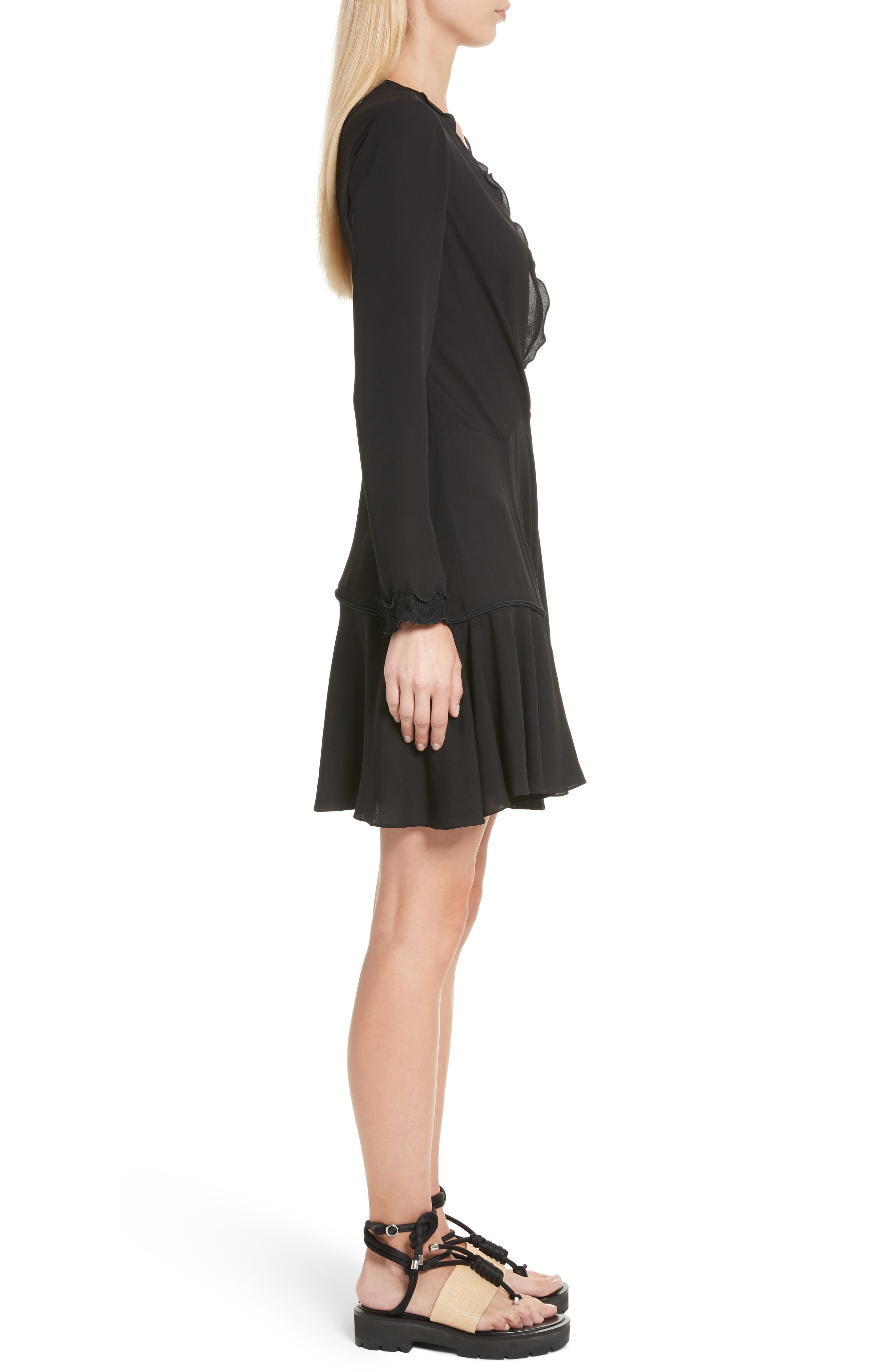 Alternate Image 3  - 3.1 Phillip Lim Ruffle Edge Silk Dress