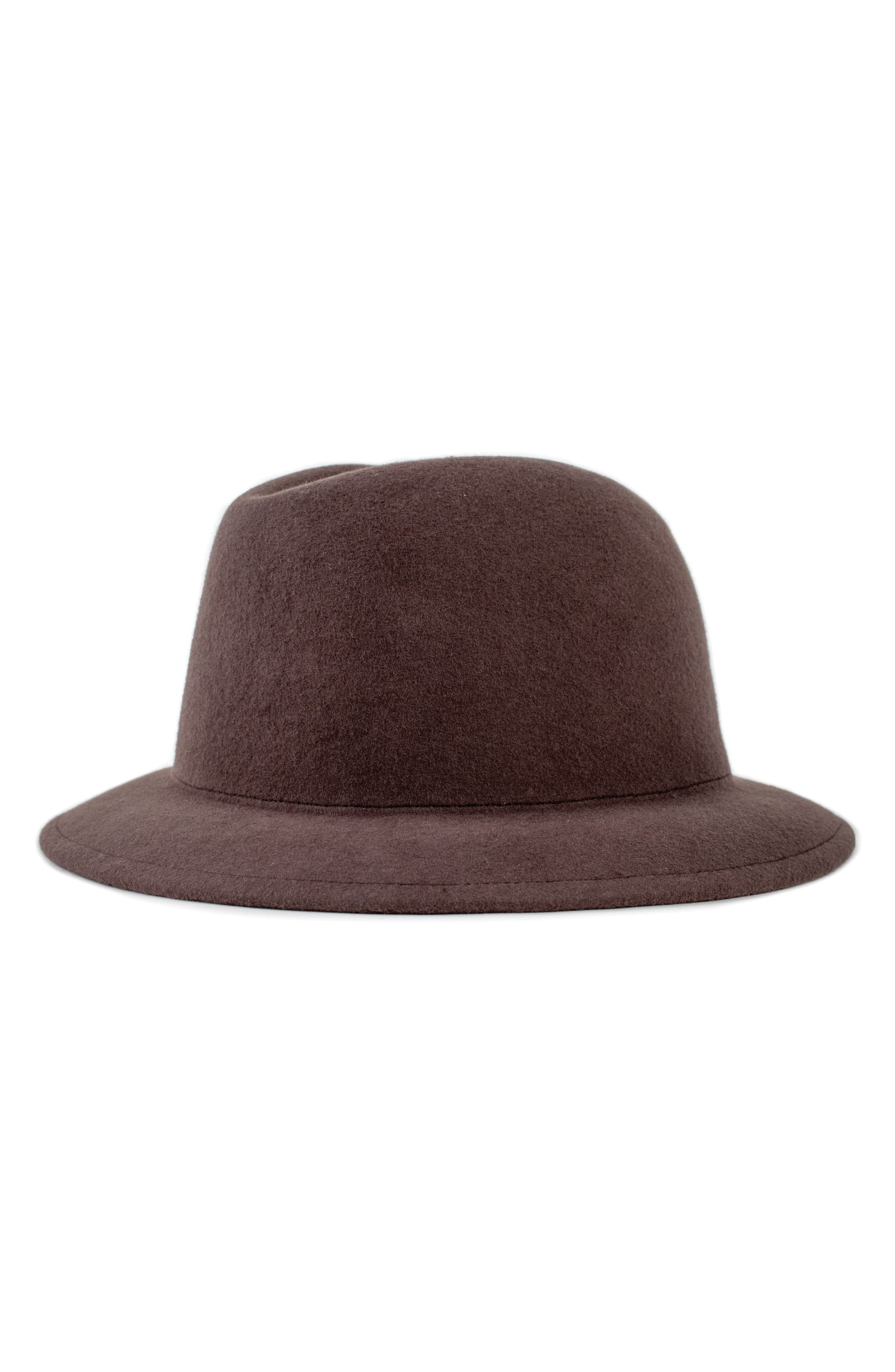 Malone Trilby,                             Main thumbnail 1, color,                             Brown