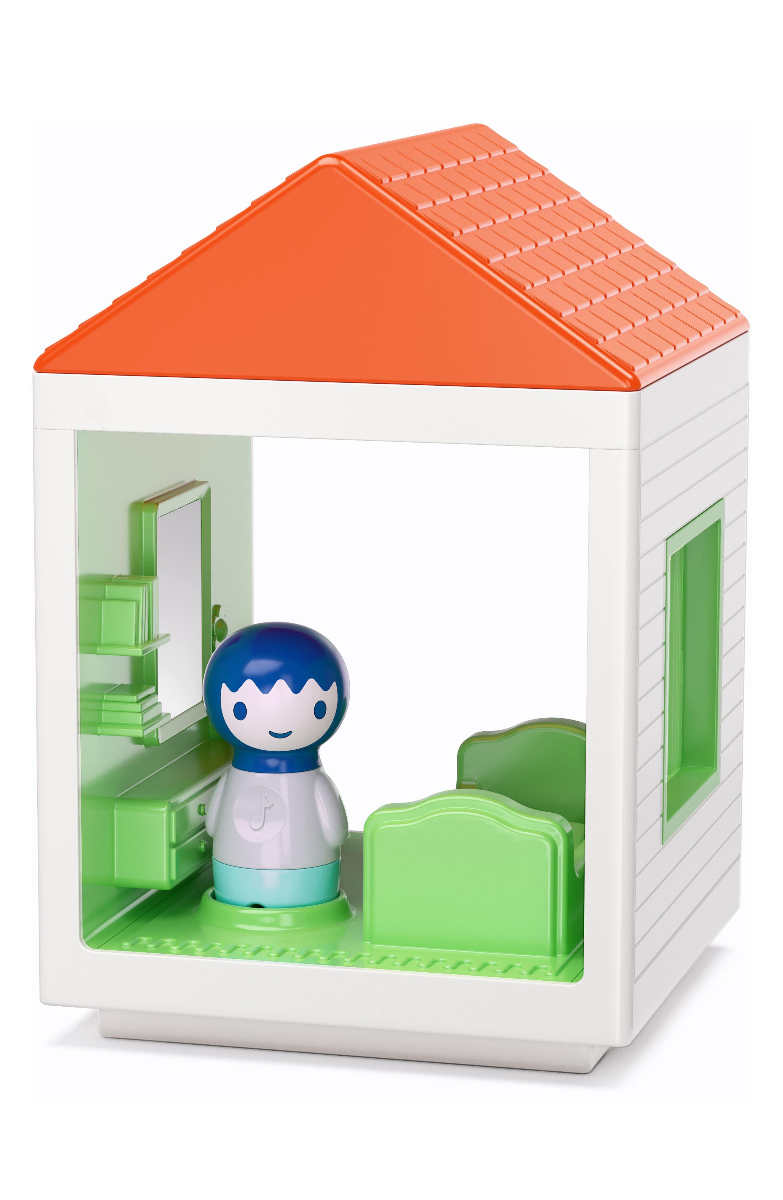 Sleeping House,                         Main,                         color, White Multi