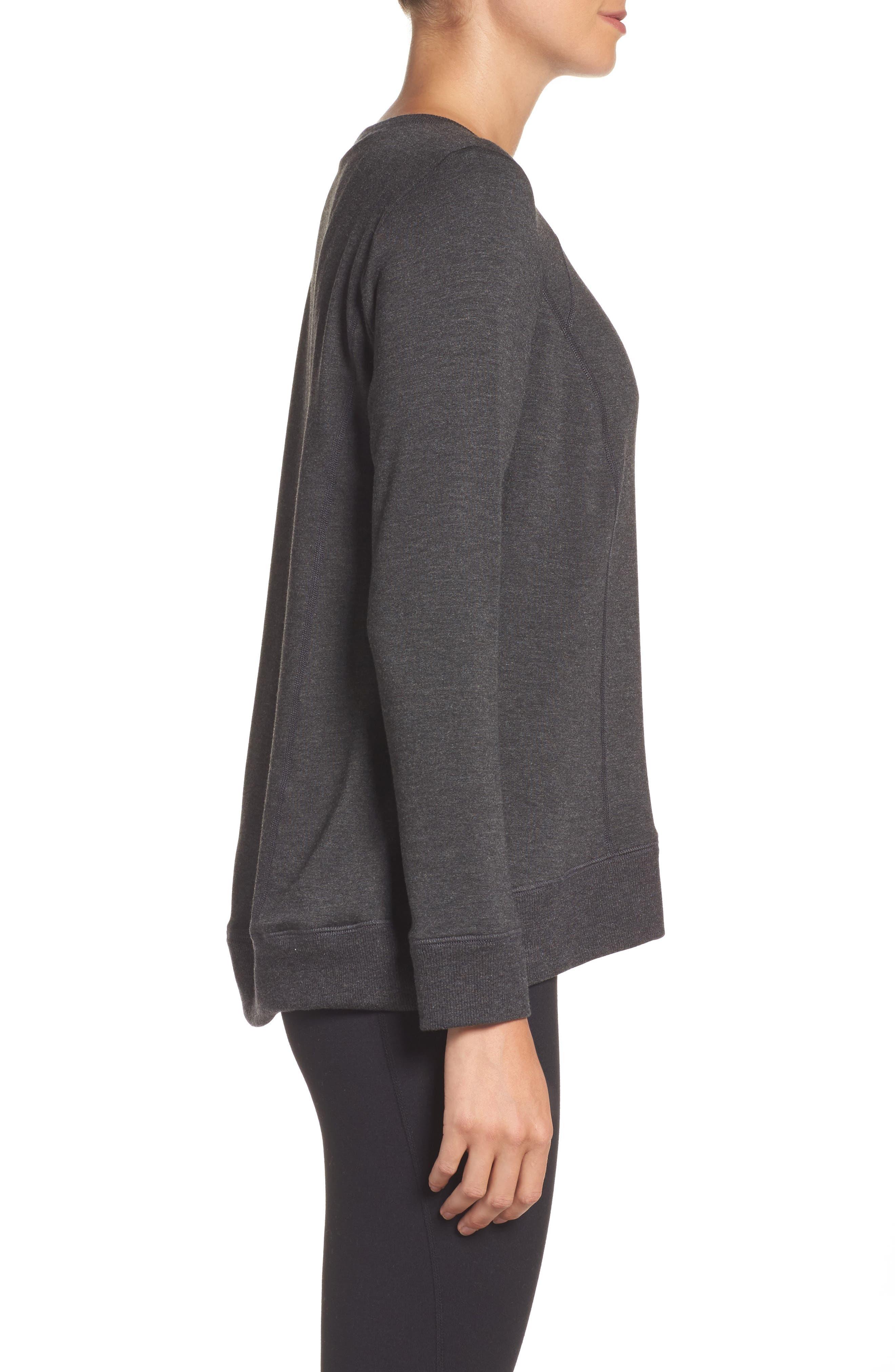 Alternate Image 3  - Beyond Yoga Fleece Pullover