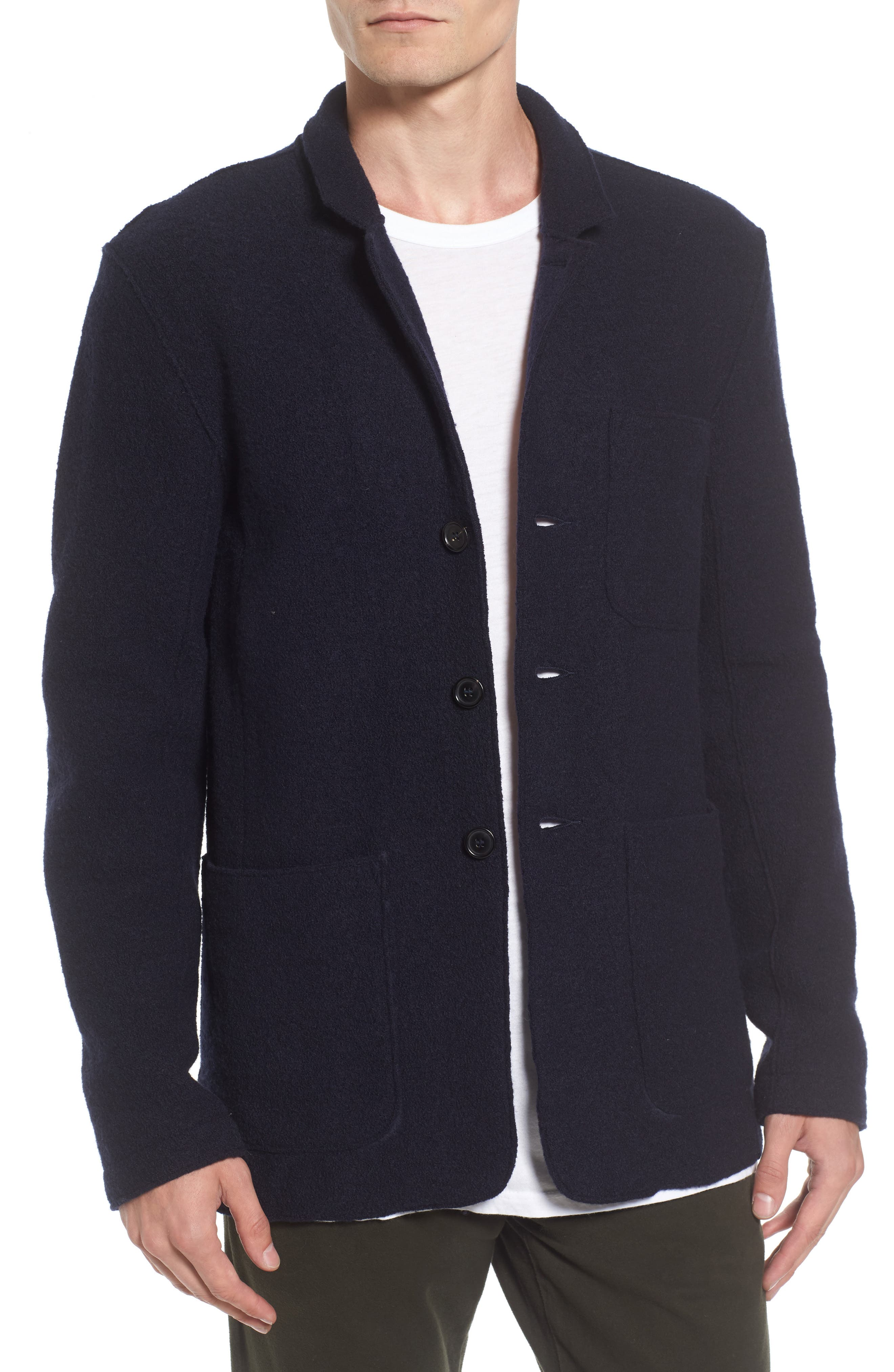 Alternate Image 1 Selected - Baldwin Regular Fit Merino Wool Blazer
