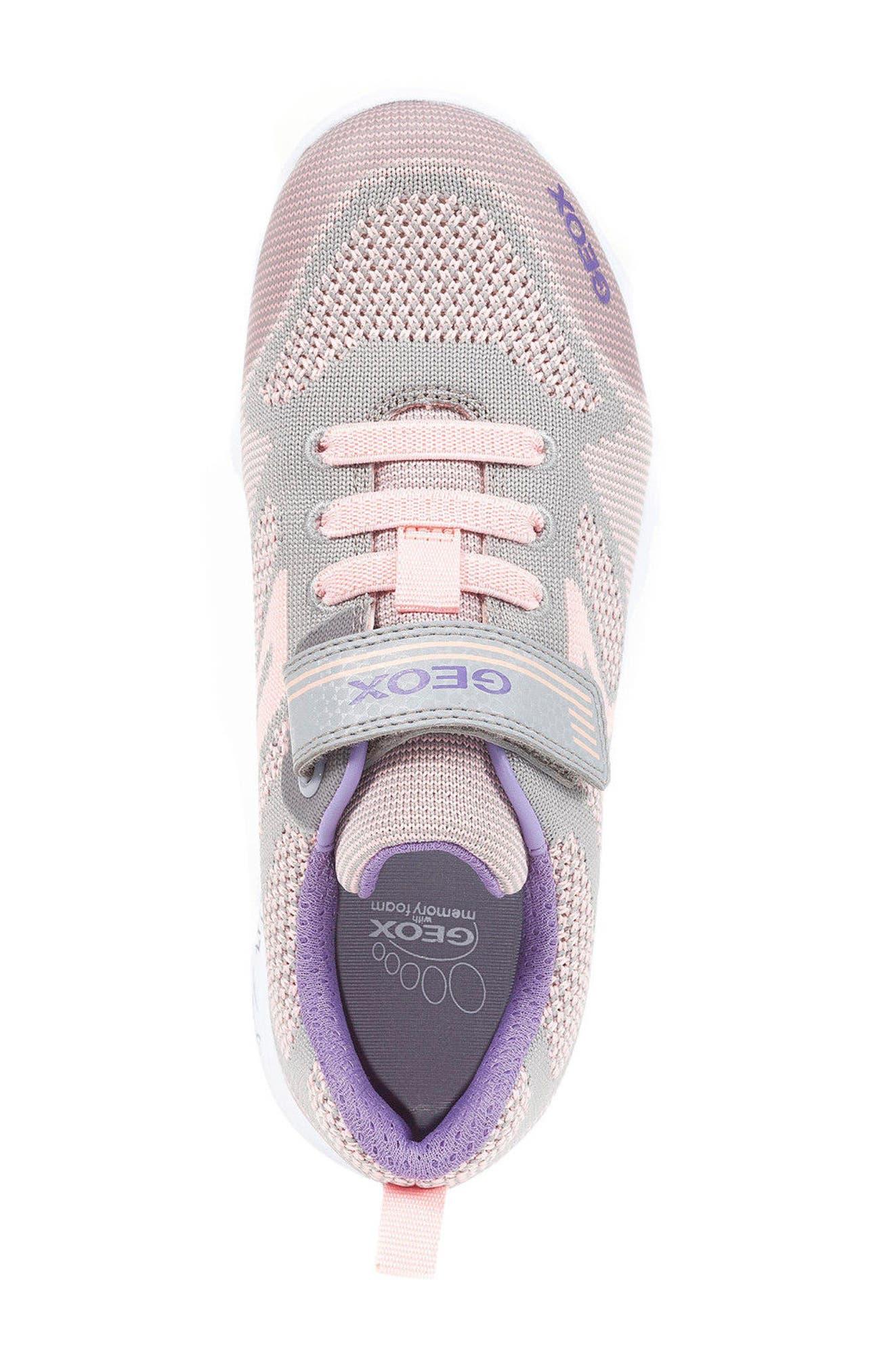 Alternate Image 4  - Geox Xunday Low Top Woven Sneaker (Toddler, Little Kid & Big Kid)