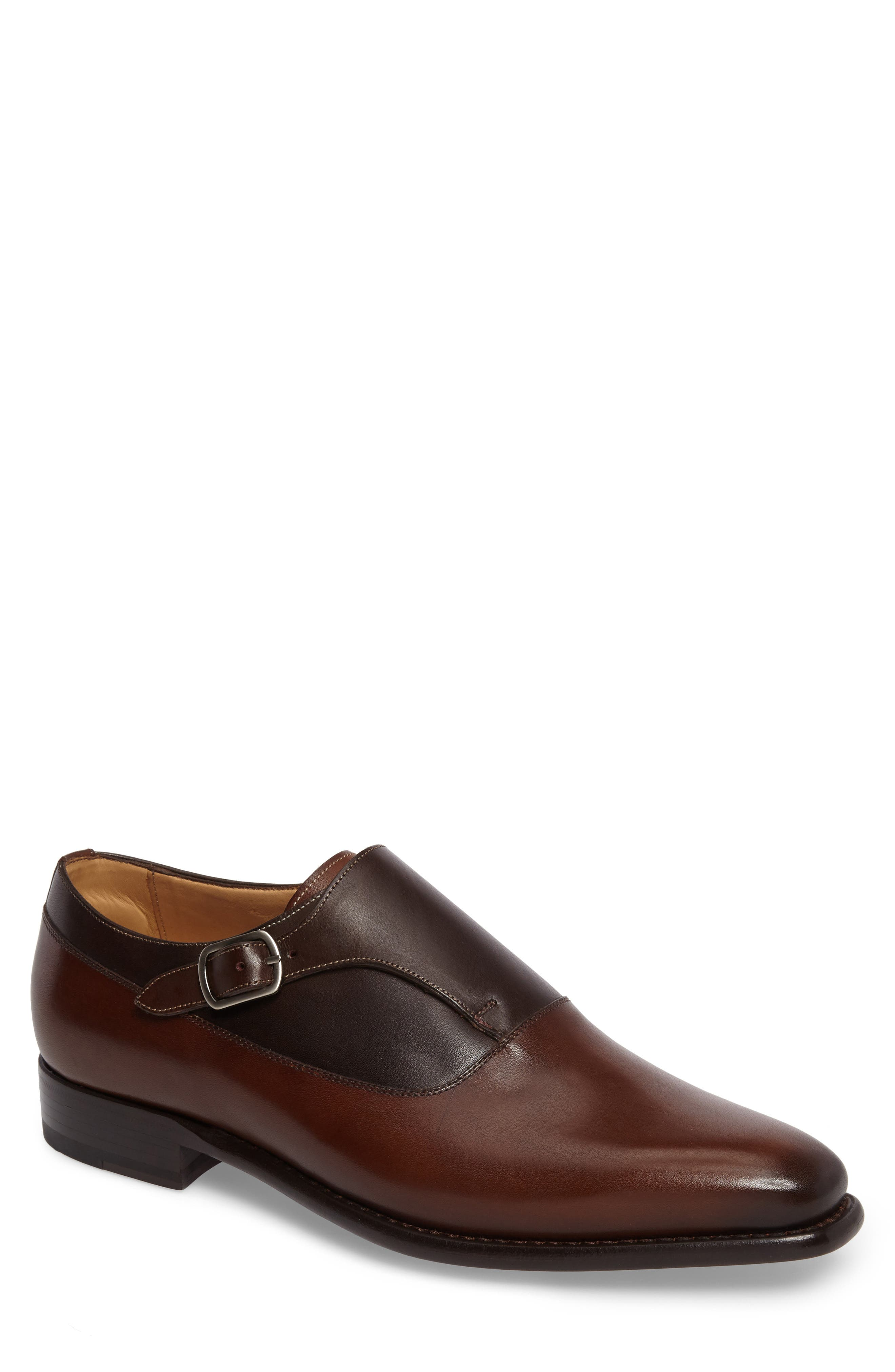 Mezlan Algar Monk Strap Shoe (Men)