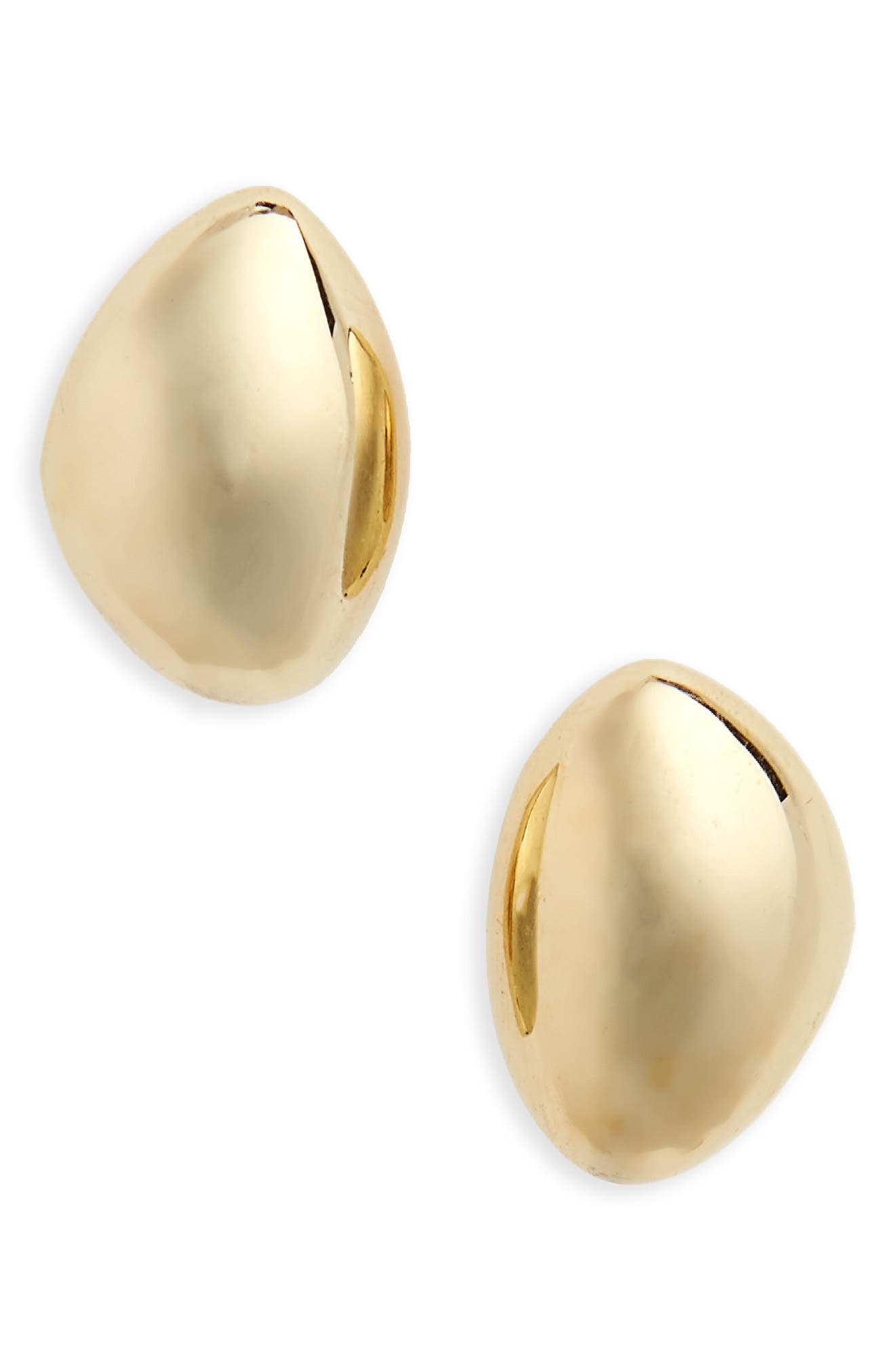 Sabi Stud Earrings,                         Main,                         color, Brass
