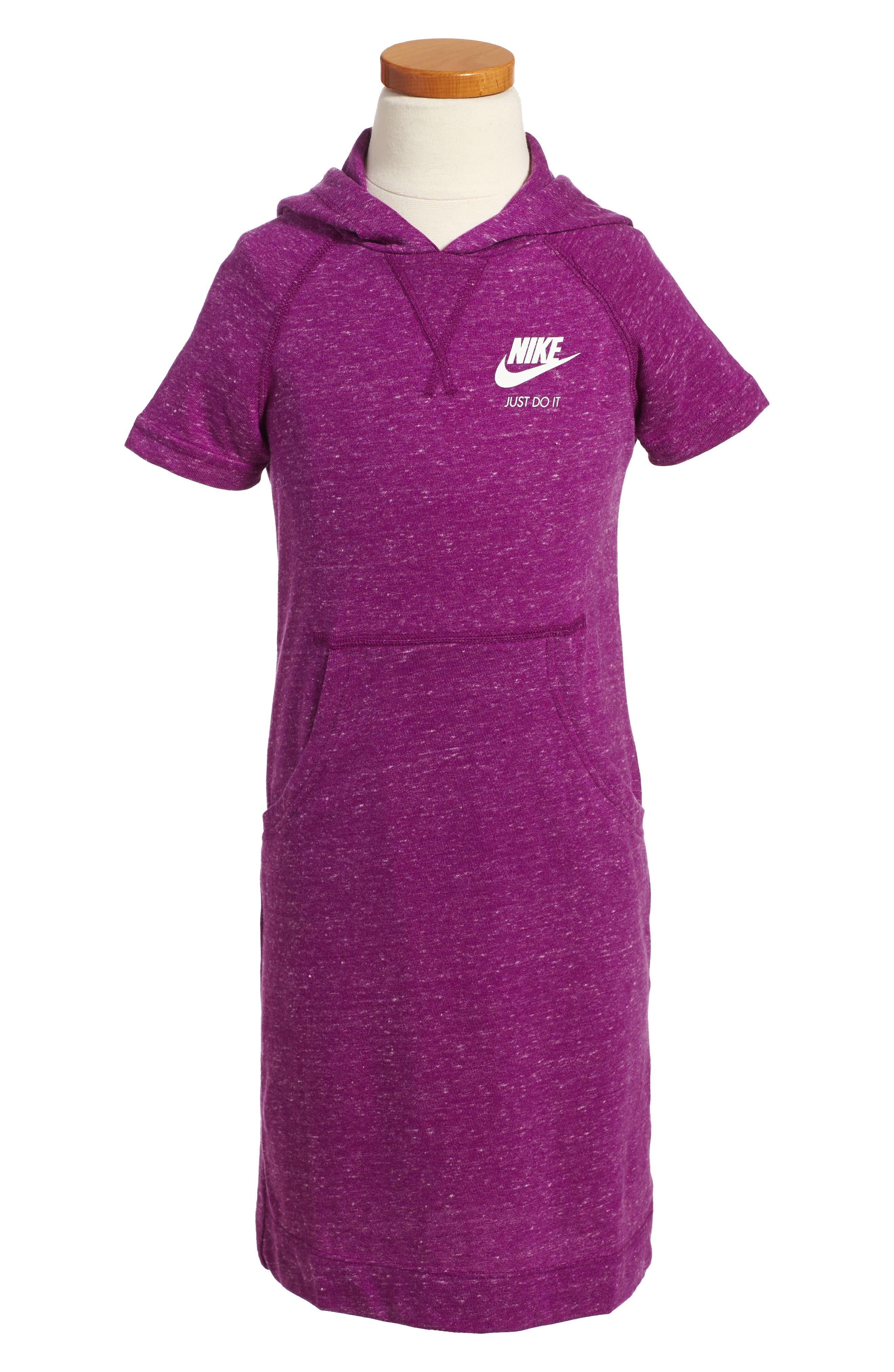Nike Gym Hooded Dress (Big Girls)