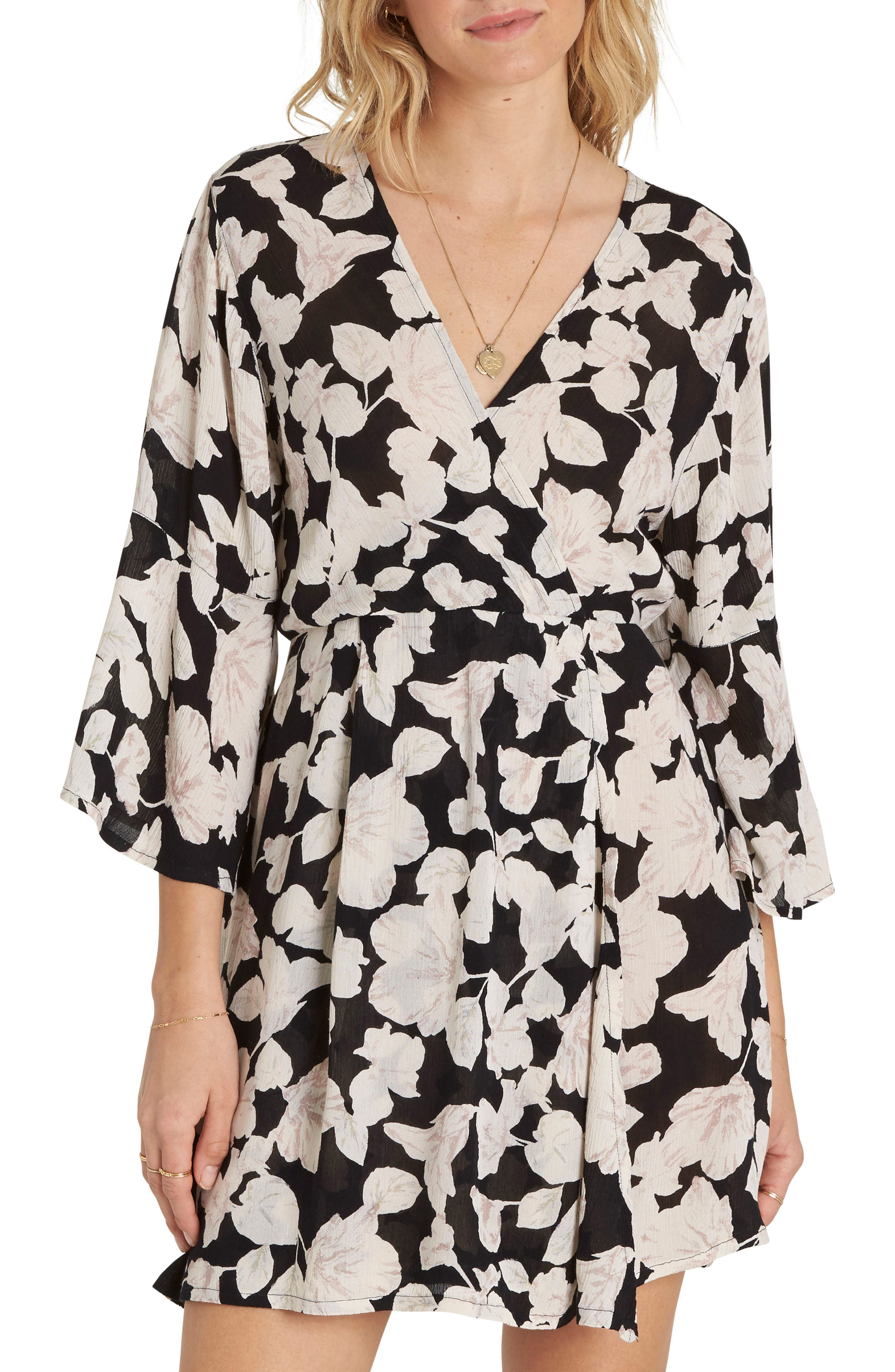 Main Image - Billabong Divine Floral Print Dress