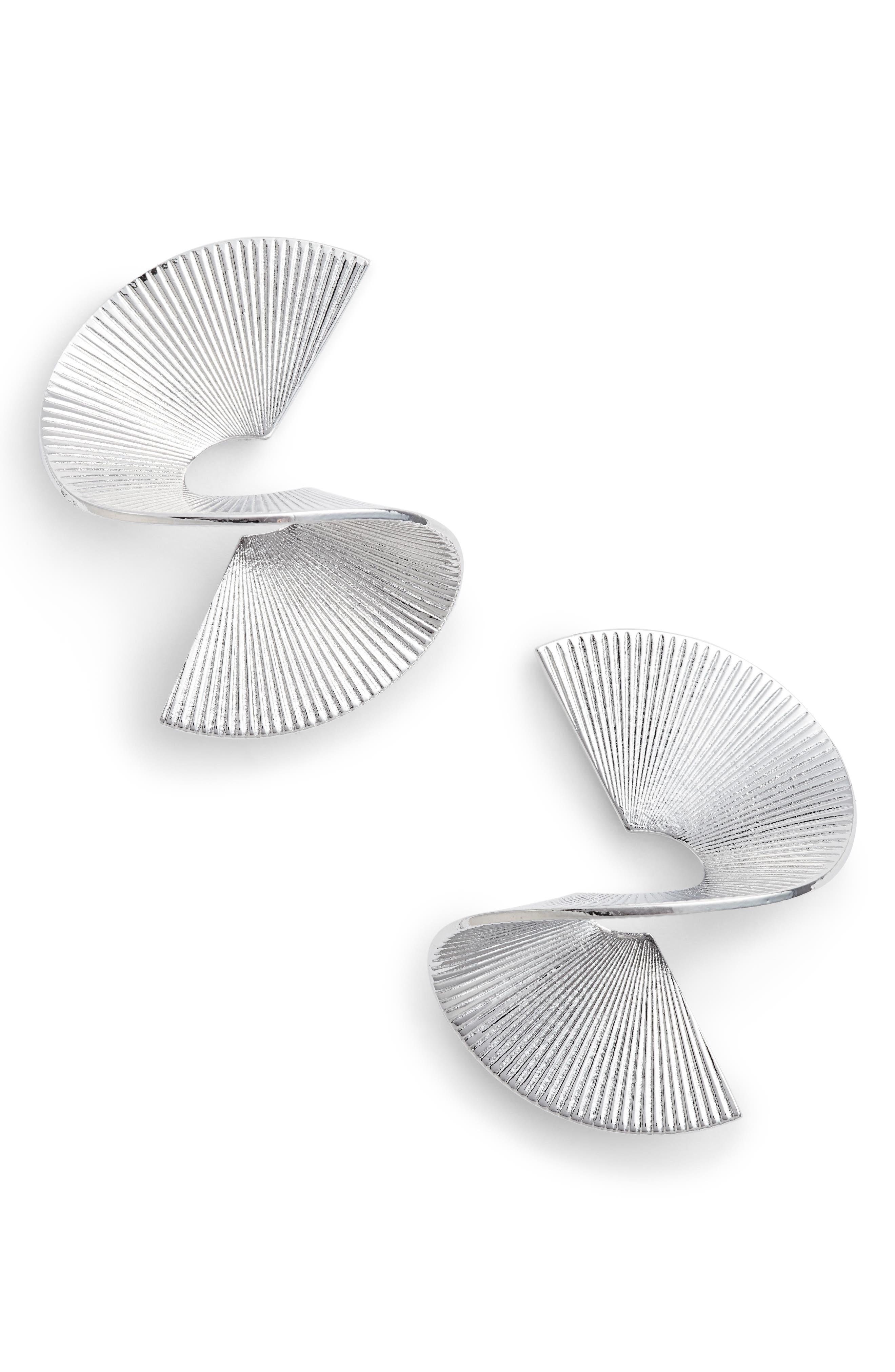 BIKO Solarwave Small Stud Earrings
