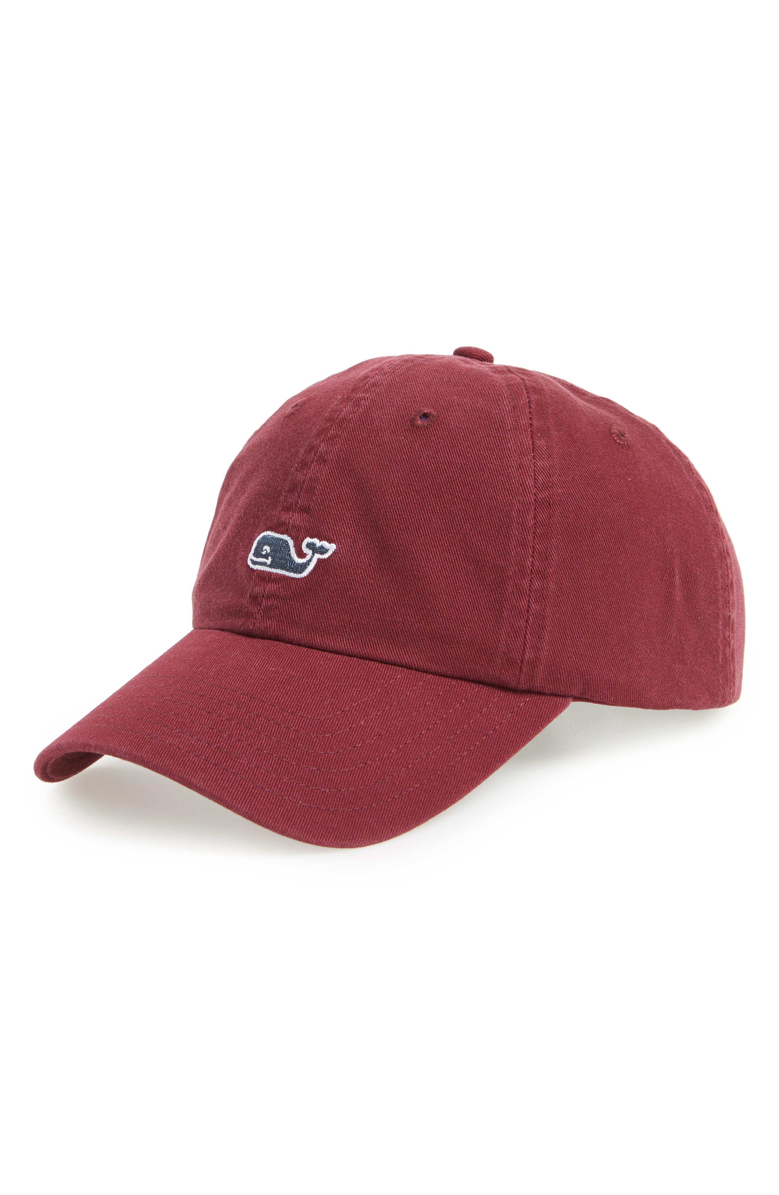 Main Image - Vineyard Vines Whale Logo Cap