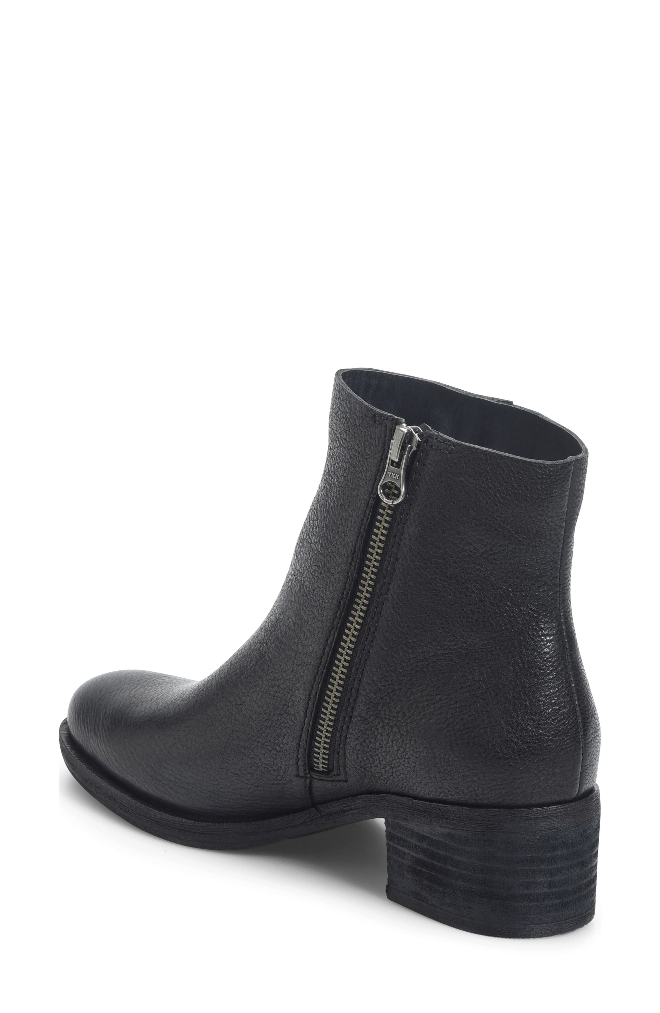 Mayten Bootie,                             Alternate thumbnail 2, color,                             Black Leather