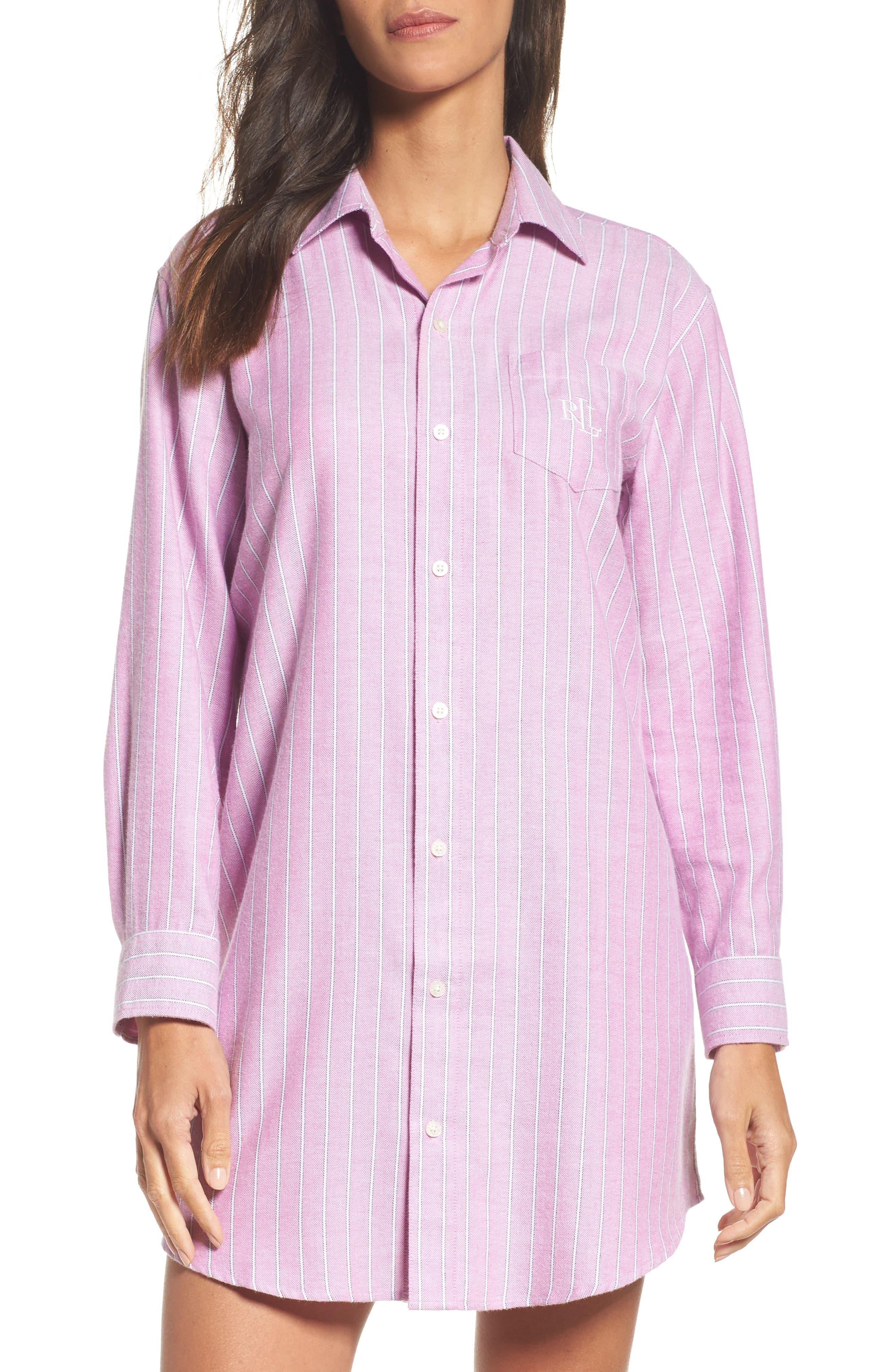 Lauren by Ralph Lauren Paisley Sleep Shirt