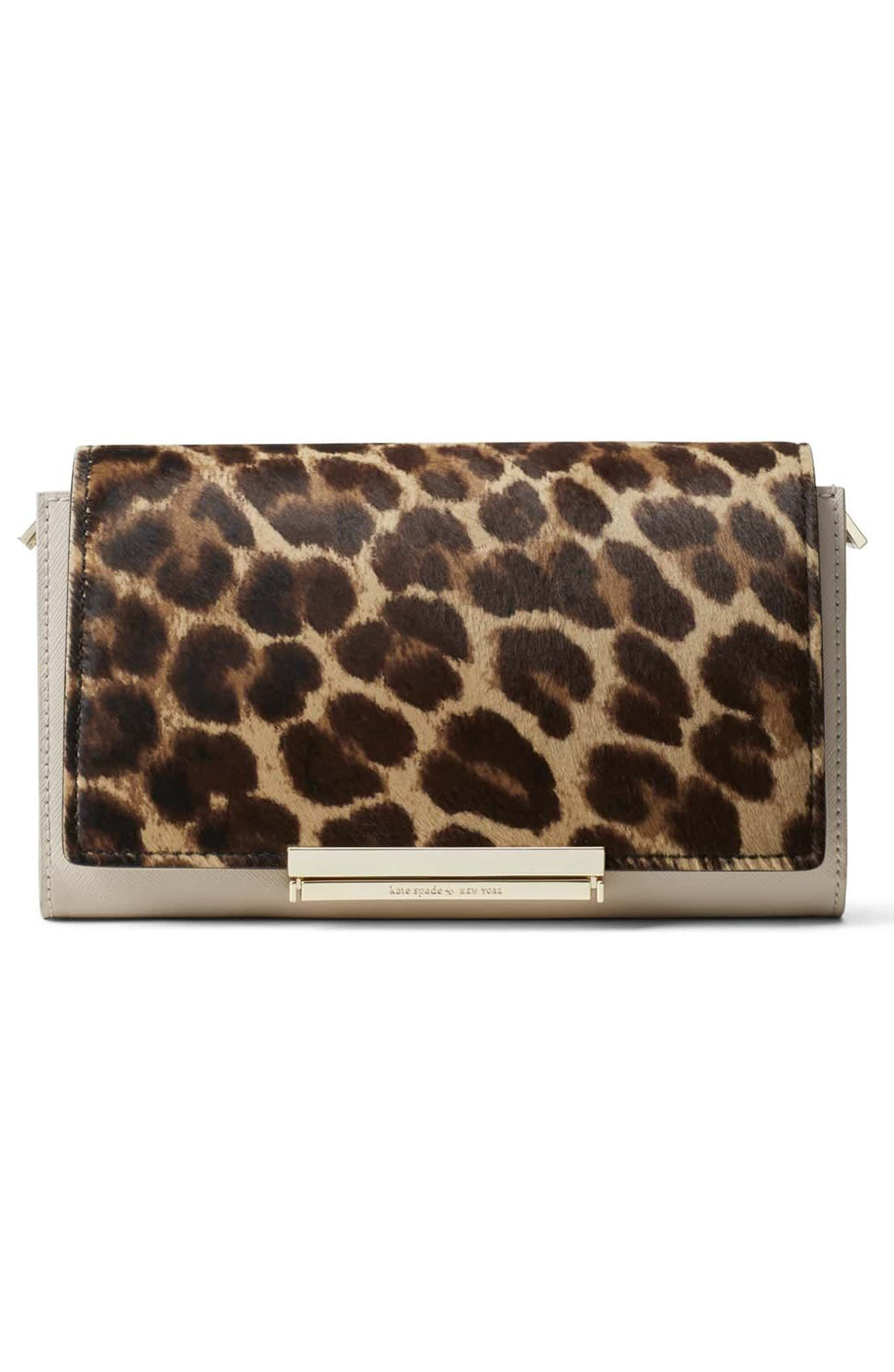 Alternate Image 4  - kate spade new york make it mine genuine calf hair snap-on accent flap