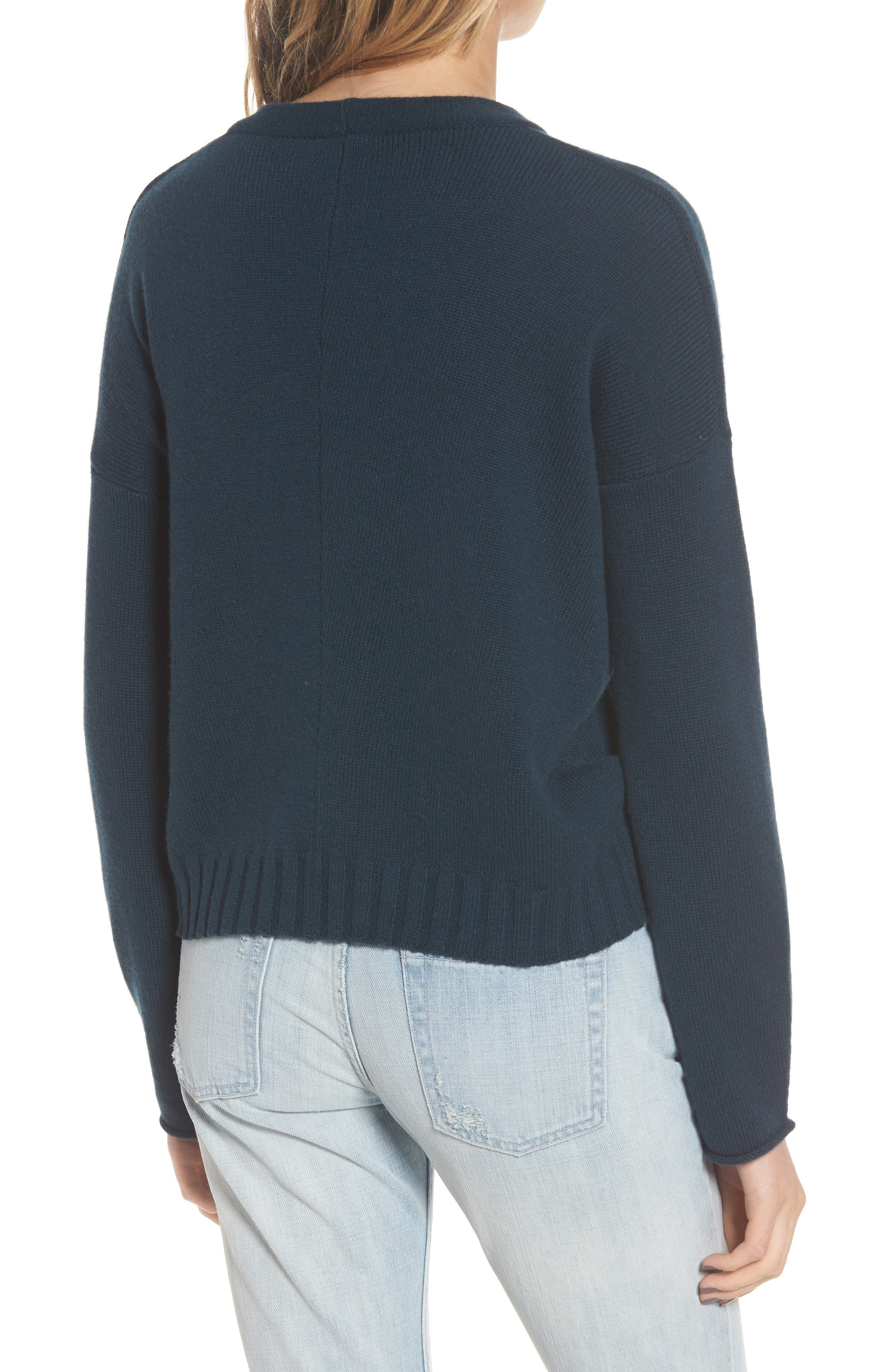 Alternate Image 4  - Rails Joanna Wool & Cashmere Sweater