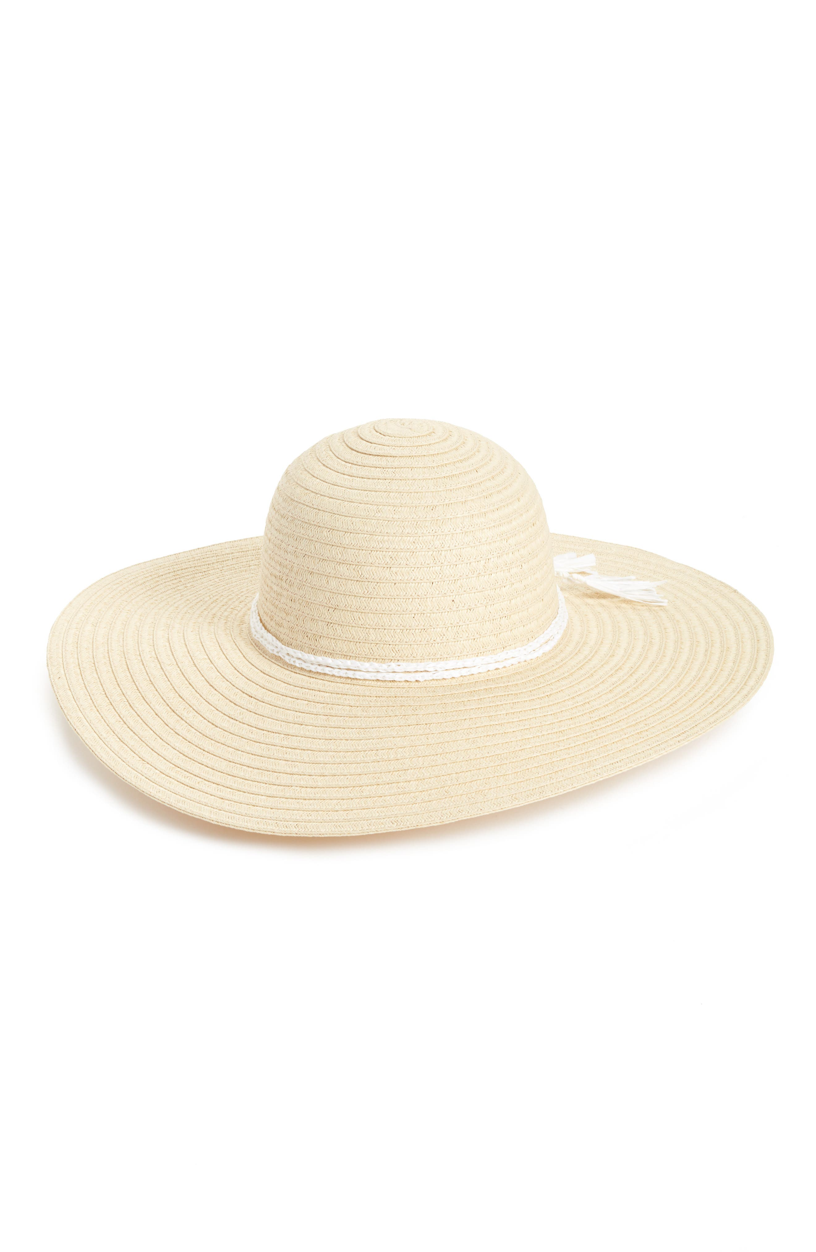Floppy Hat,                         Main,                         color, Natural Combo