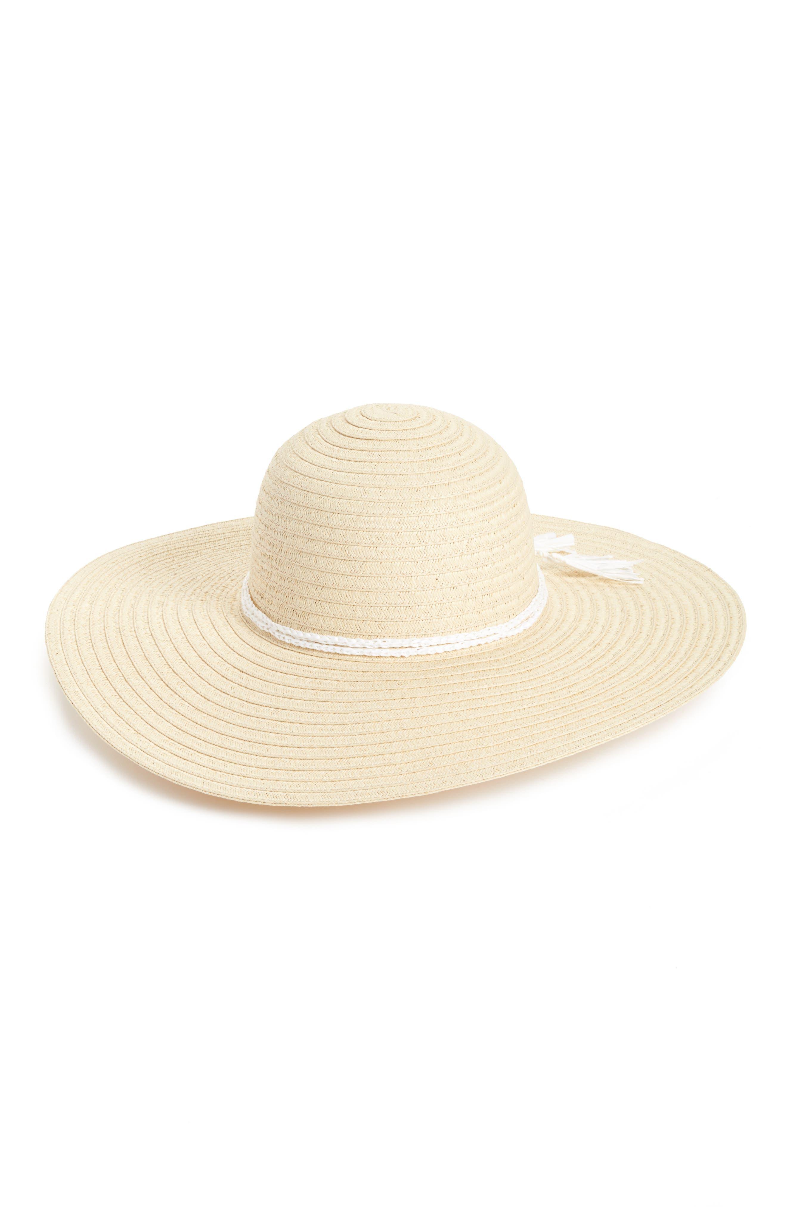 Caslon® Floppy Hat