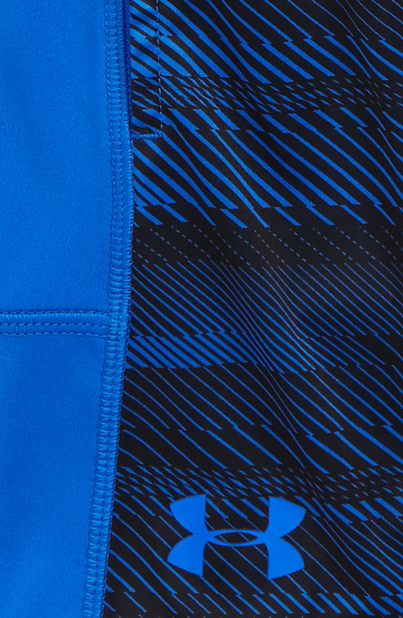 Alternate Image 3  - Under Armour Stunt Speed Lines HeatGear® Shorts (Toddler Boys & Little Boys)