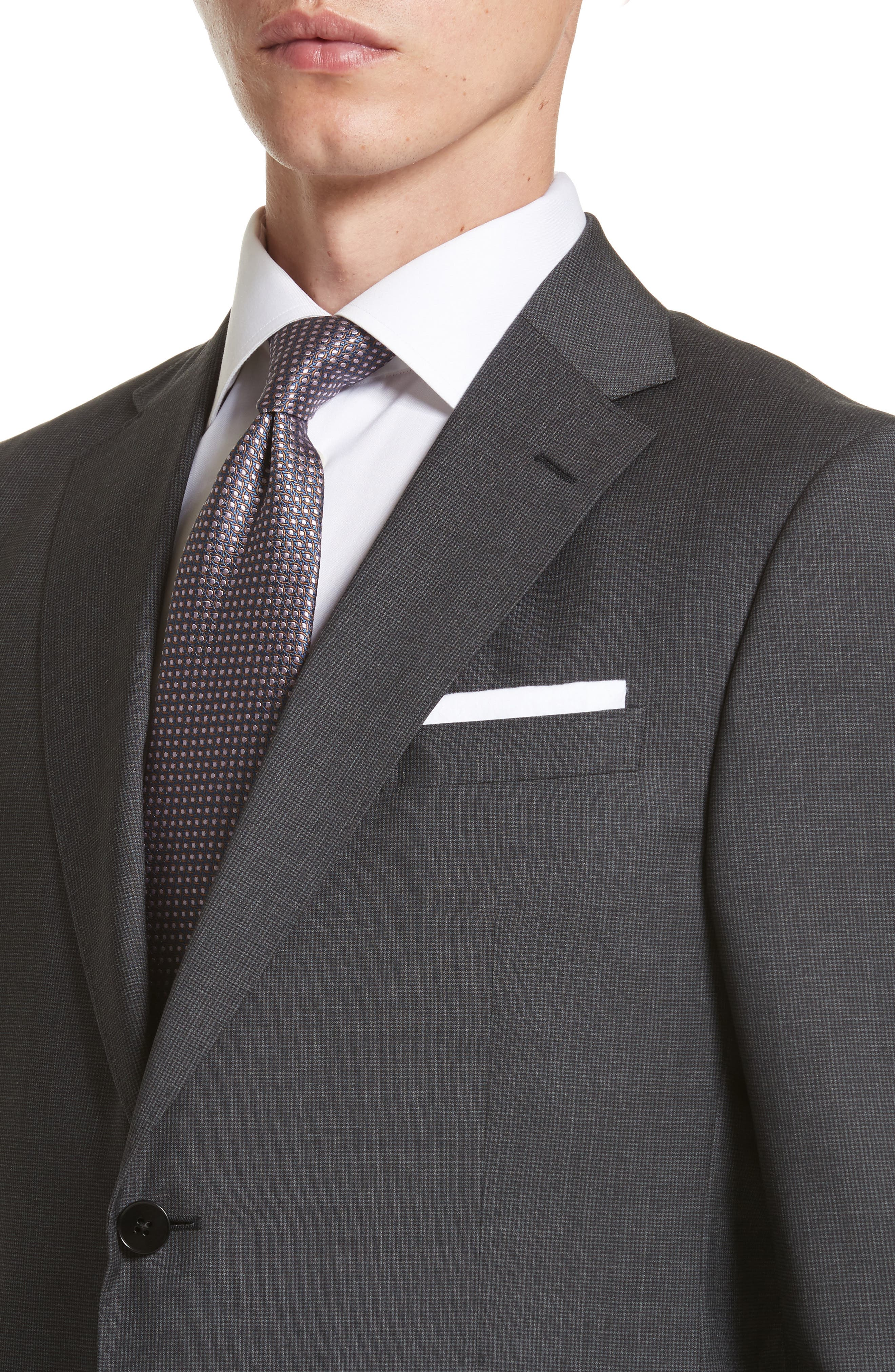 Alternate Image 4  - Z Zegna Classic Fit Solid Wool Suit